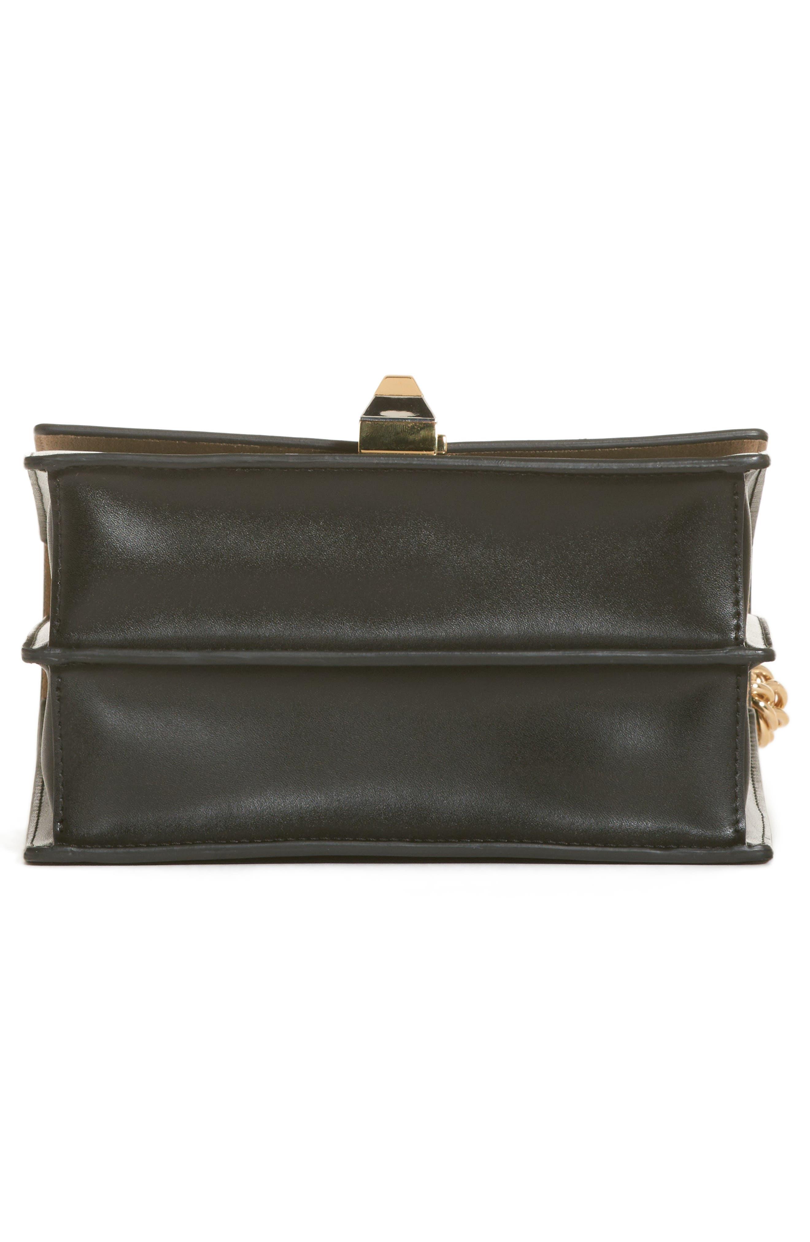 Small Kan I Liberty Leather Shoulder Bag,                             Alternate thumbnail 5, color,                             006