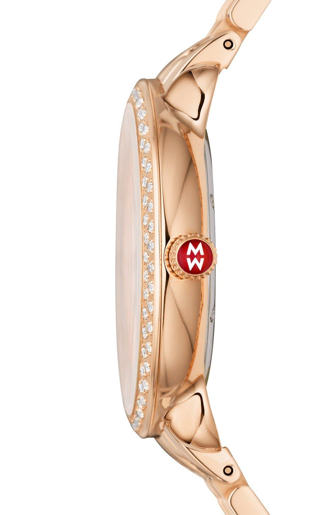 Serein 16 Diamond Watch Case, 34mm x 36mm,                             Alternate thumbnail 15, color,