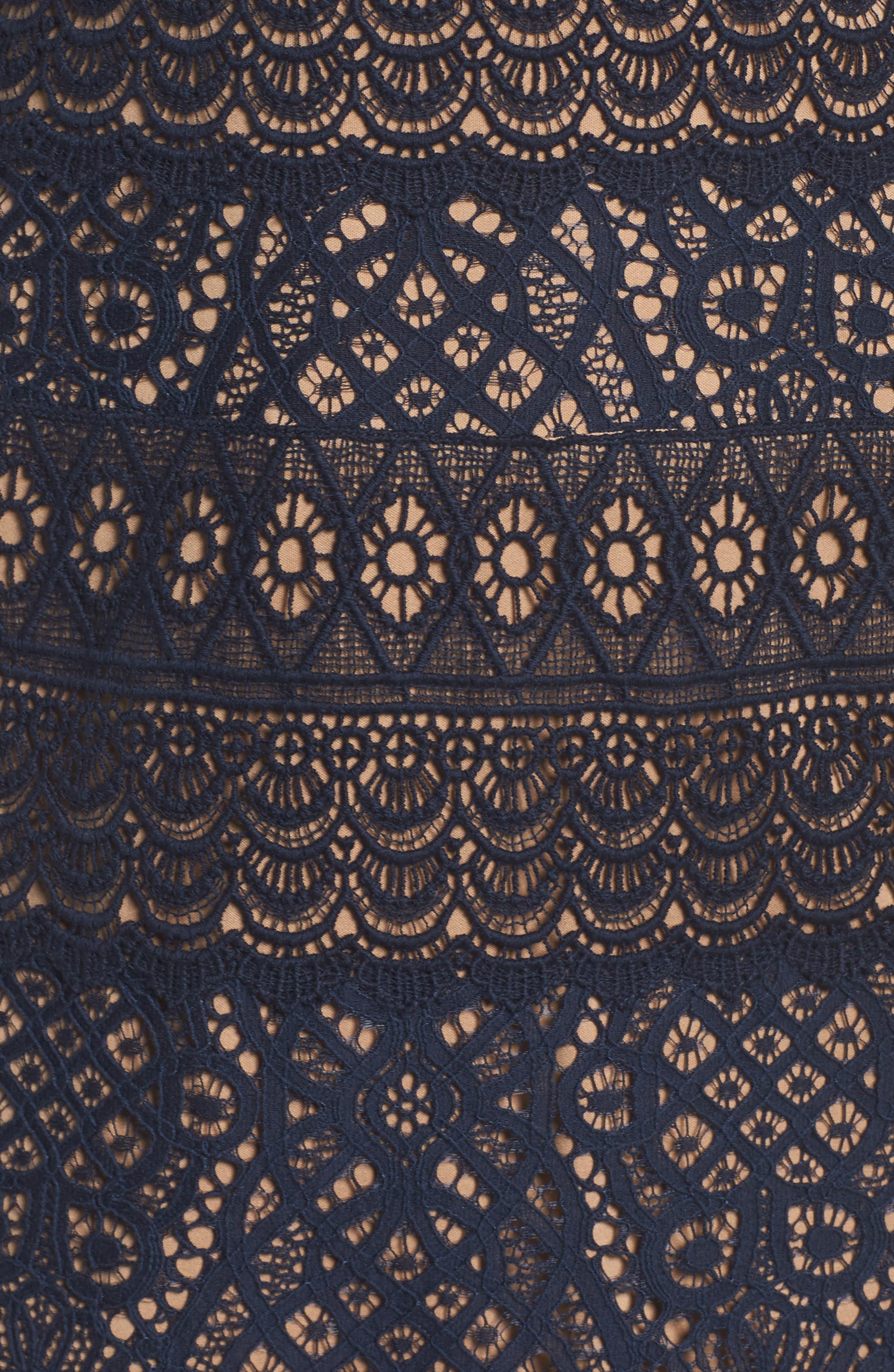Off the Shoulder Sheath Dress,                             Alternate thumbnail 5, color,                             408