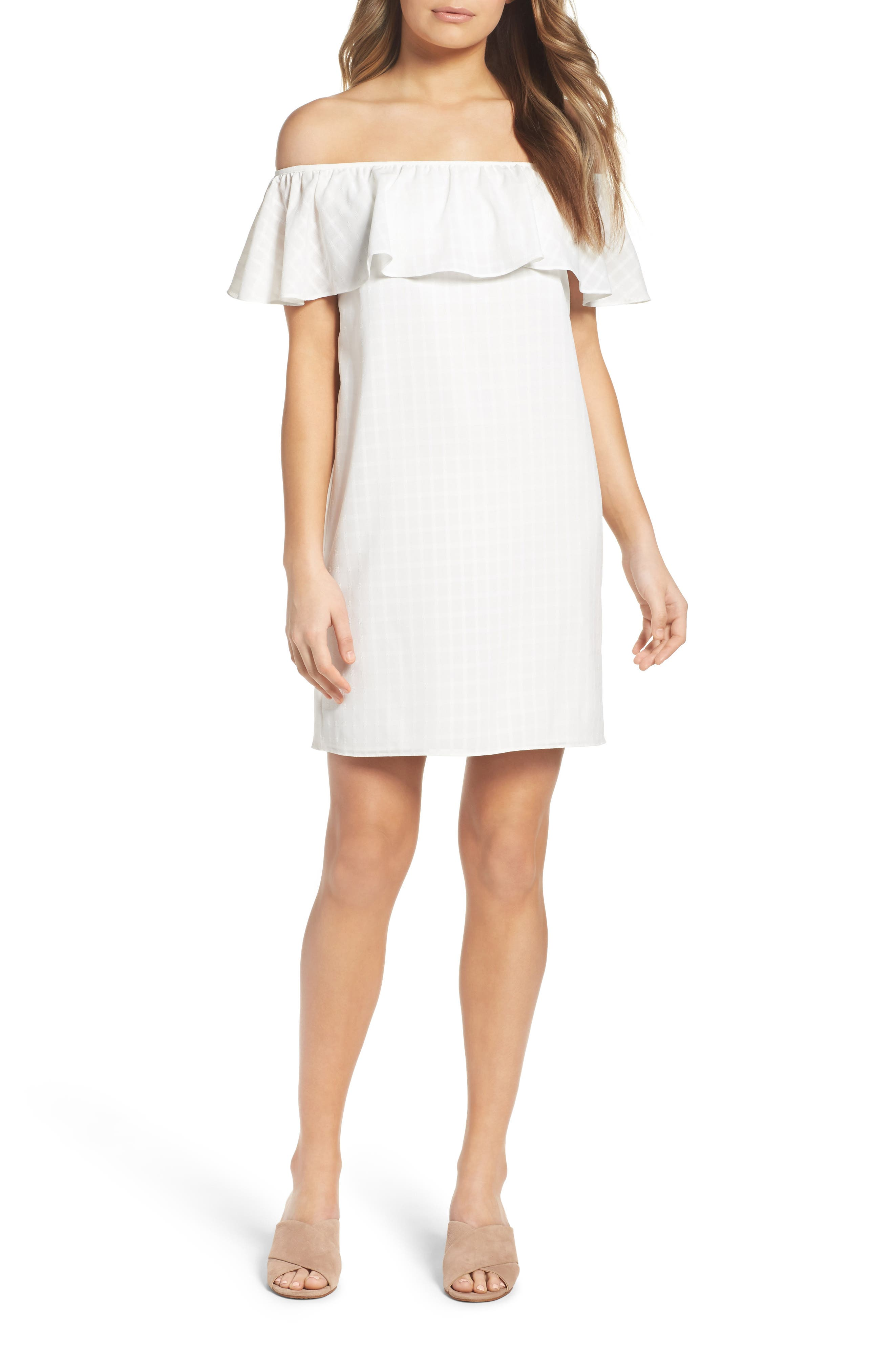Bonita Señorita Shift Dress,                         Main,                         color, 100