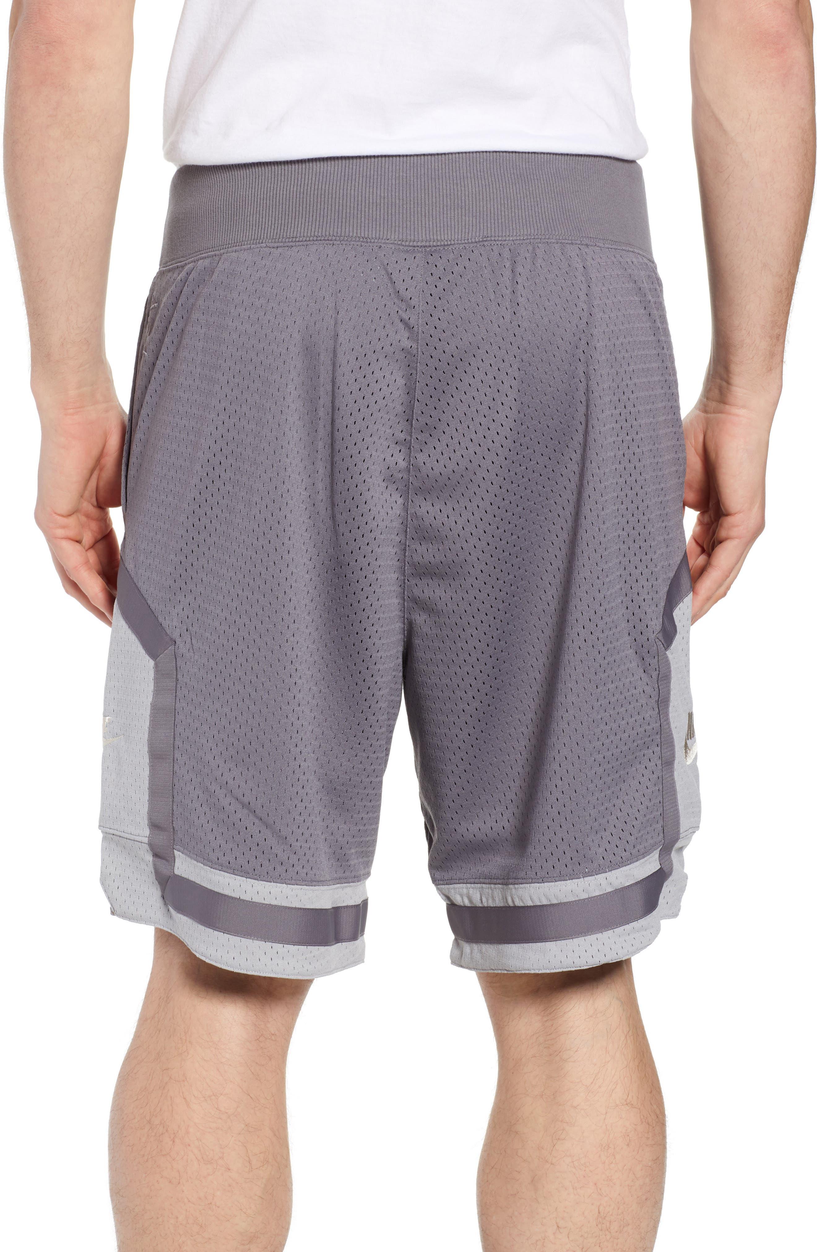 NSW AF1 Shorts,                             Alternate thumbnail 2, color,                             GUNSMOKE/ GREY/ OREWOOD