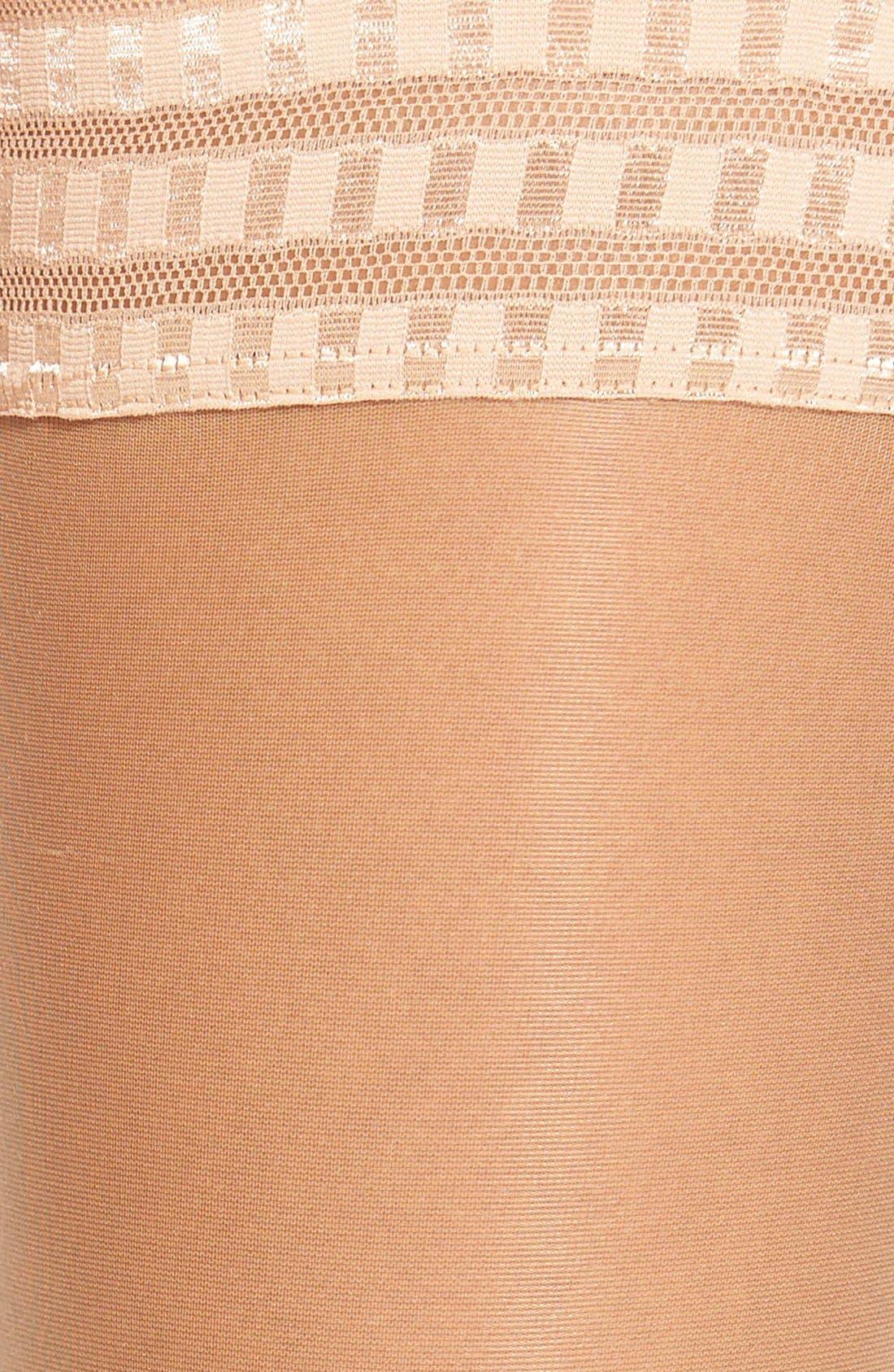 'Pure Matt 20' Stay-Up Stockings,                             Alternate thumbnail 16, color,