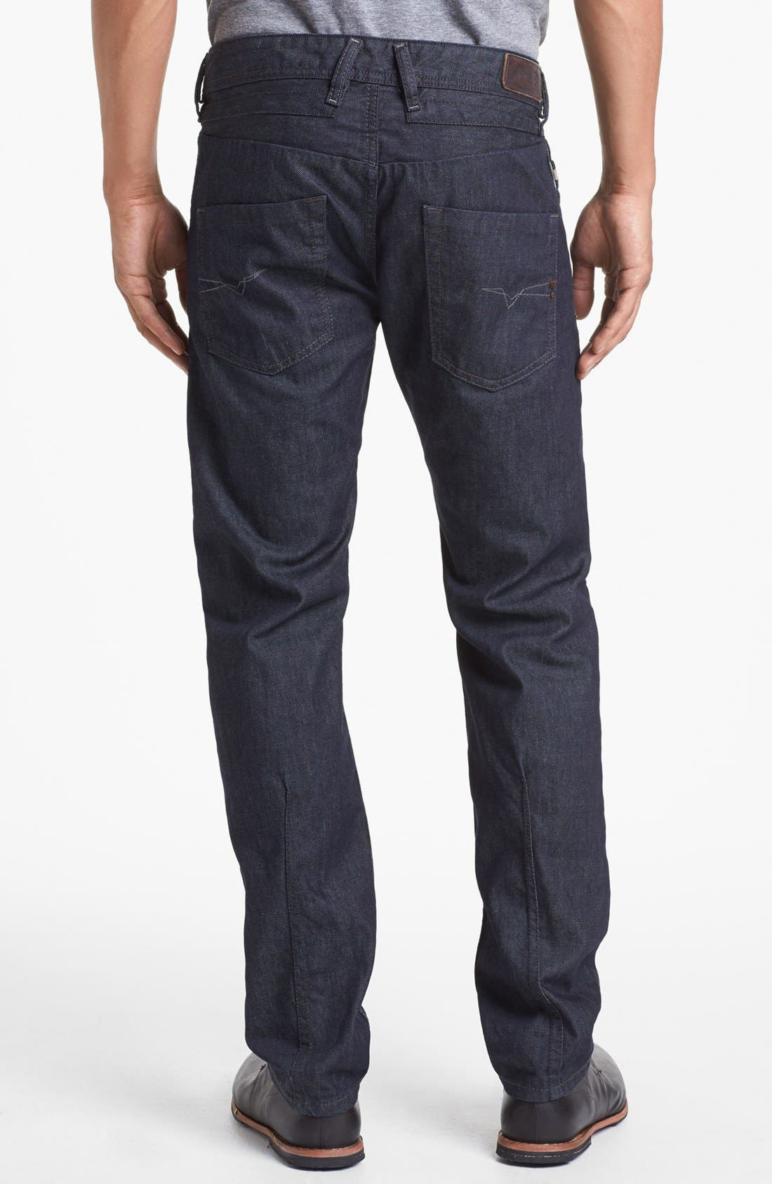 'Belther' Slim Fit Jeans, Main, color, 400