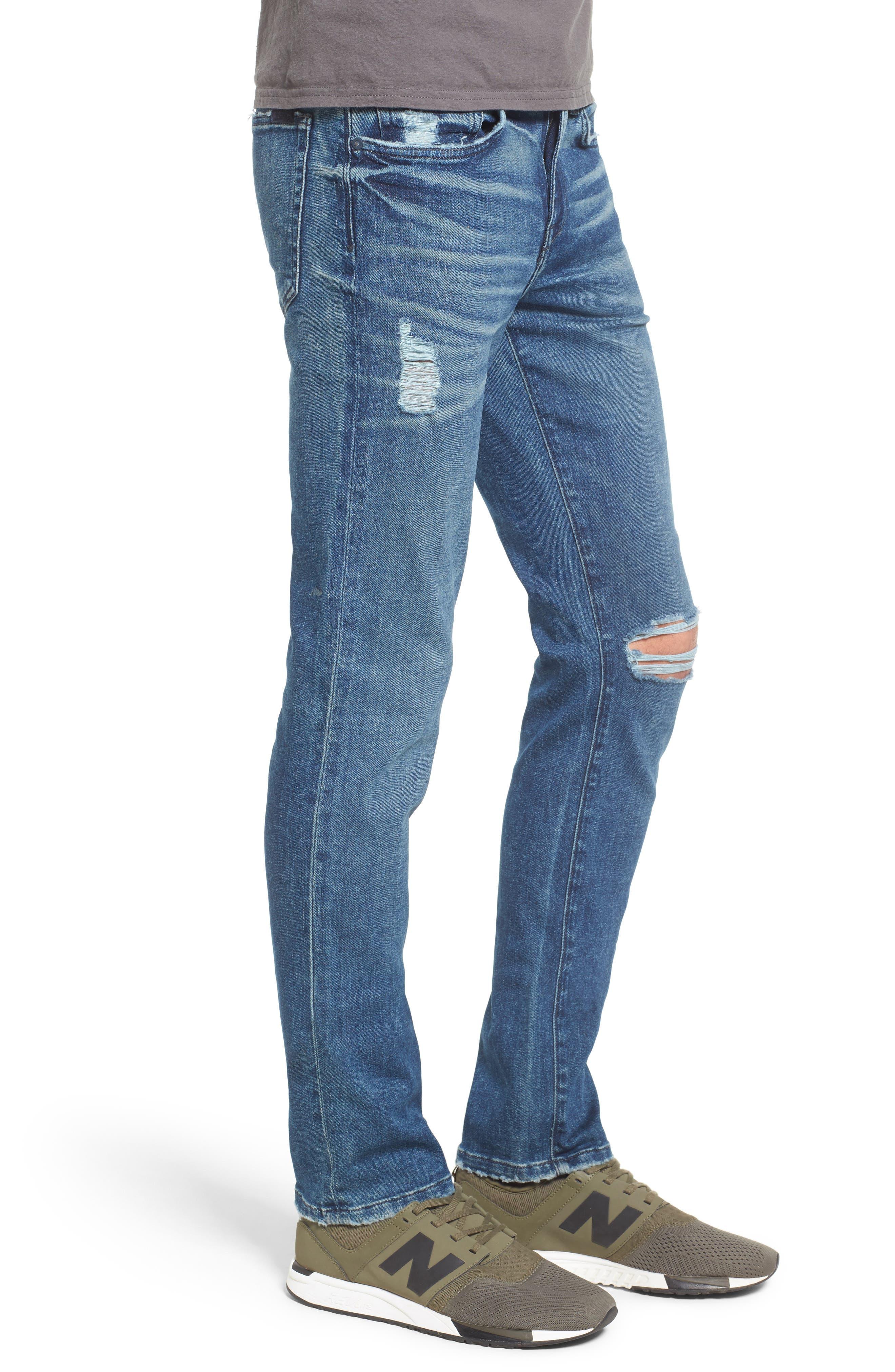Slim Skinny Fit Jeans,                             Alternate thumbnail 3, color,