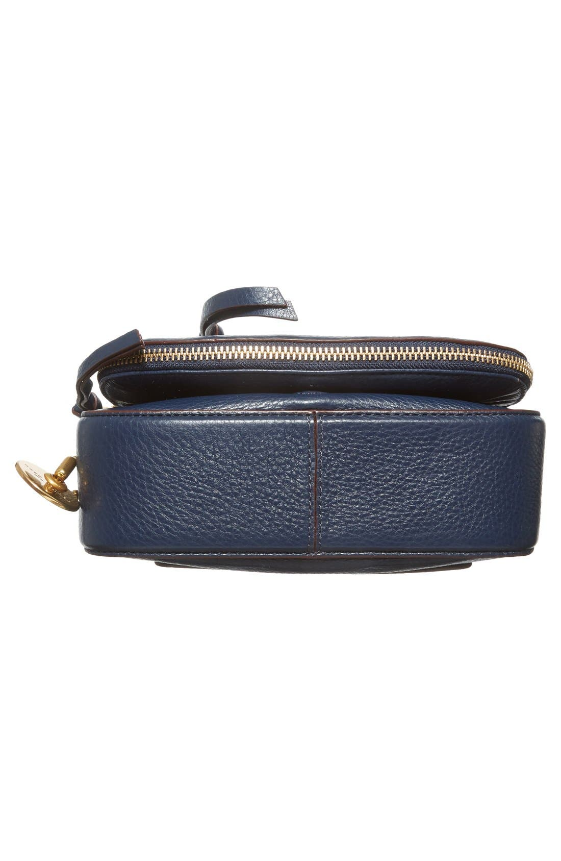 Small Recruit Nomad Pebbled Leather Crossbody Bag,                             Alternate thumbnail 74, color,