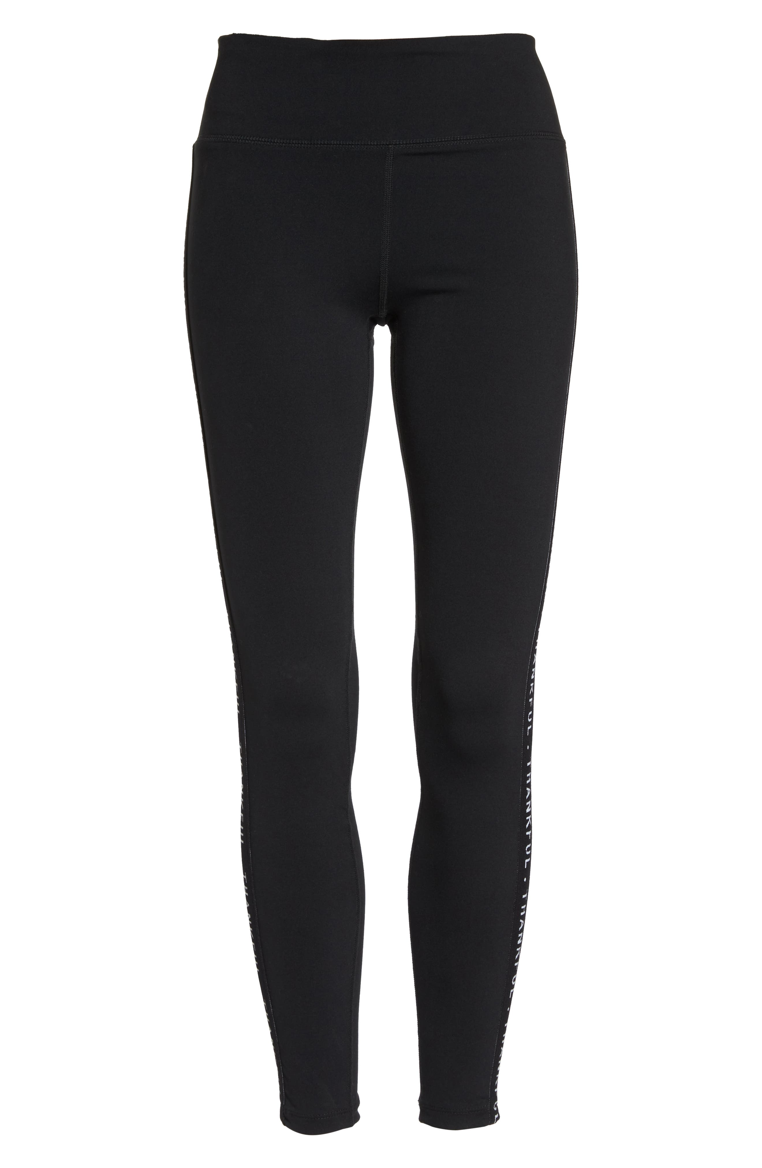 Vivian Thankful Leggings,                             Alternate thumbnail 7, color,                             001