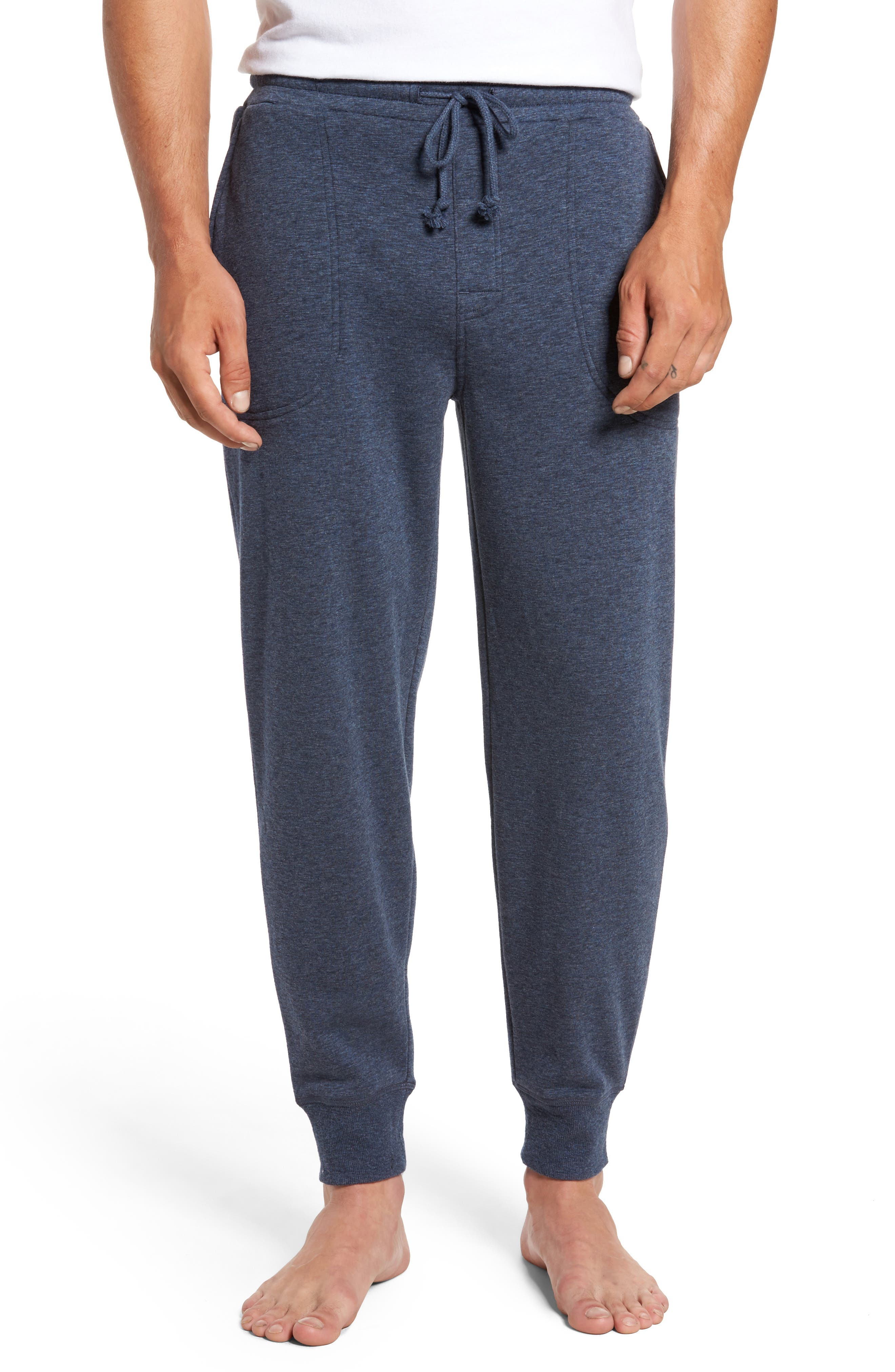 French Terry Pajama Pants,                             Main thumbnail 2, color,