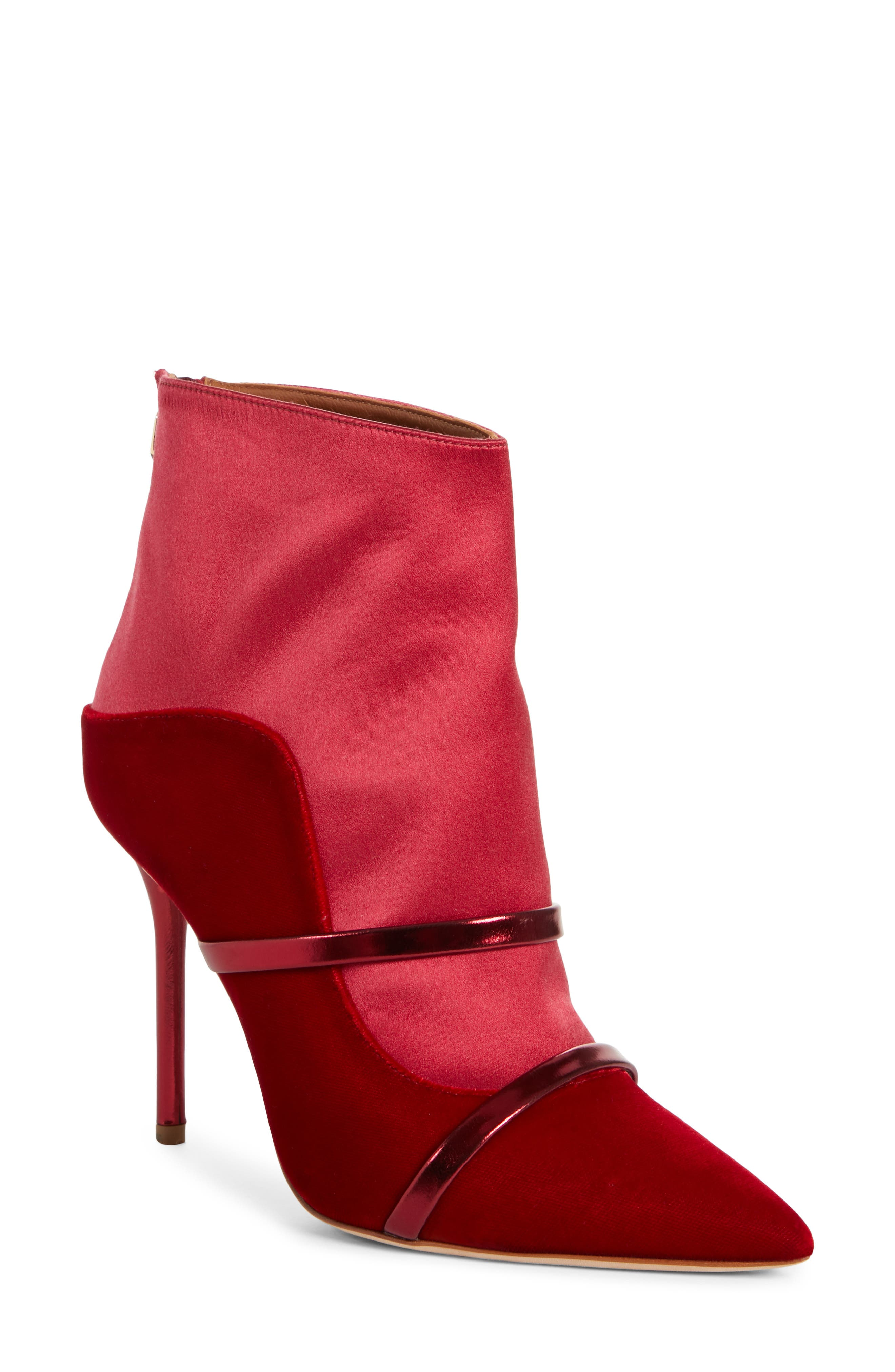 Malone Souliers Madison Double Band Boot, Red