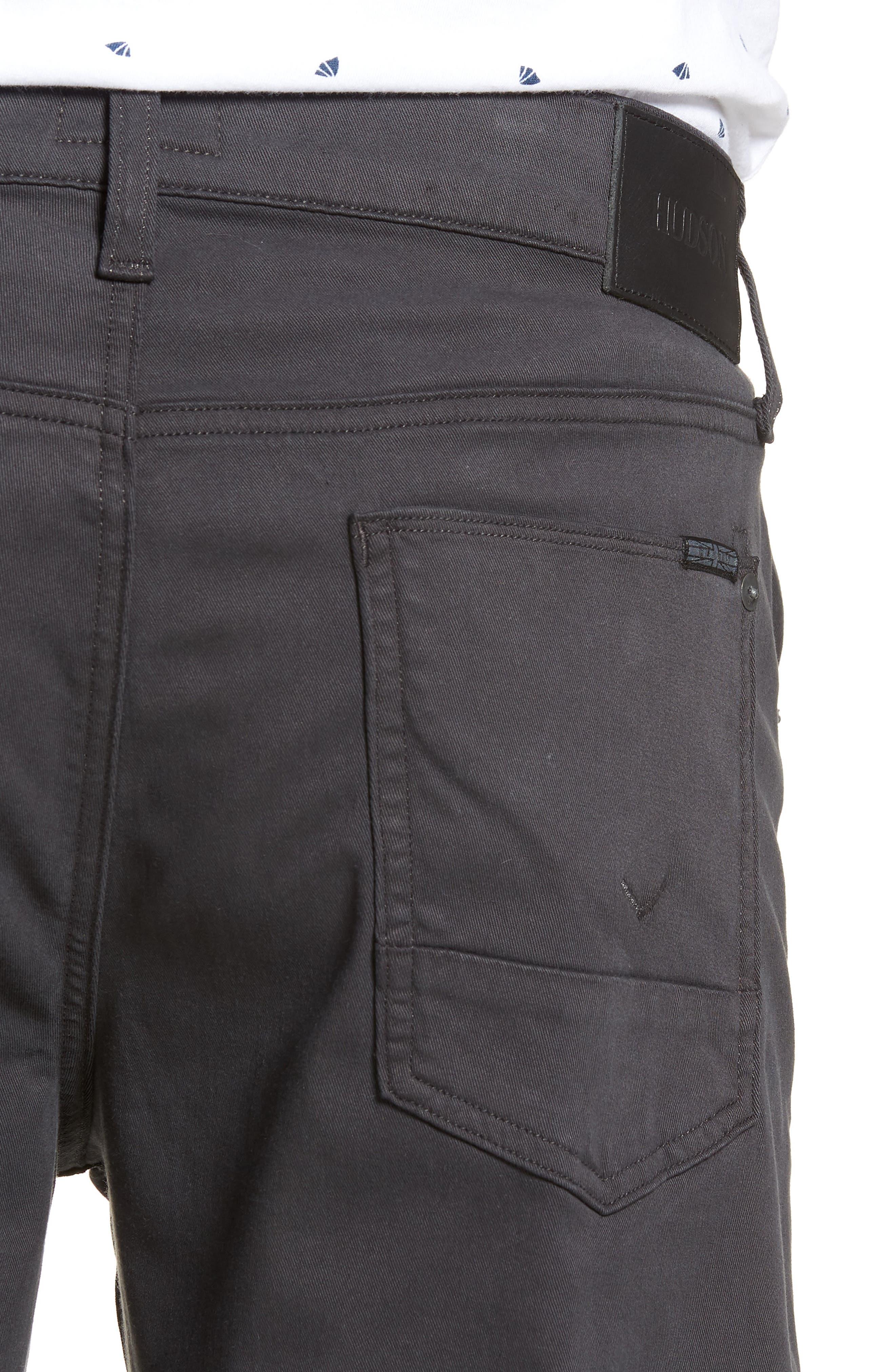Byron Slim Straight Leg Pants,                             Alternate thumbnail 4, color,                             METAL