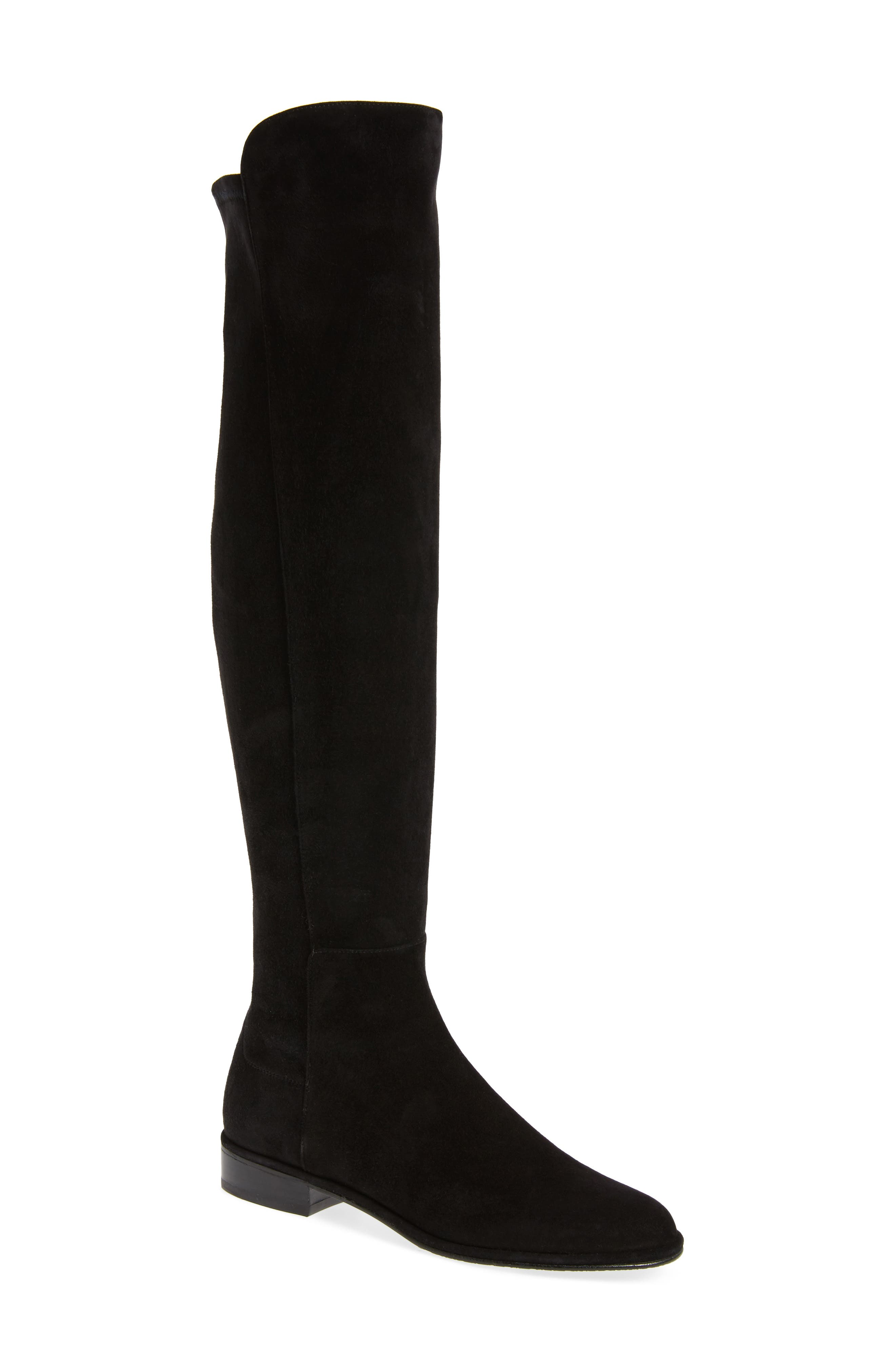 Allgood Over the Knee Boot,                             Main thumbnail 1, color,                             001