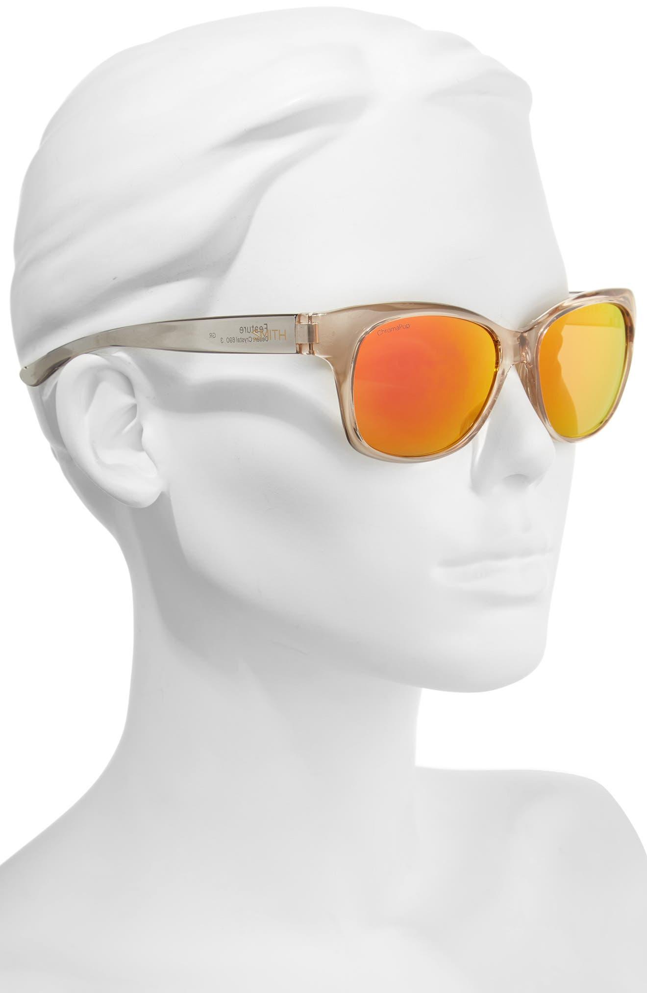 Feature ChromaPop 54mm Polarized Sunglasses,                             Alternate thumbnail 2, color,