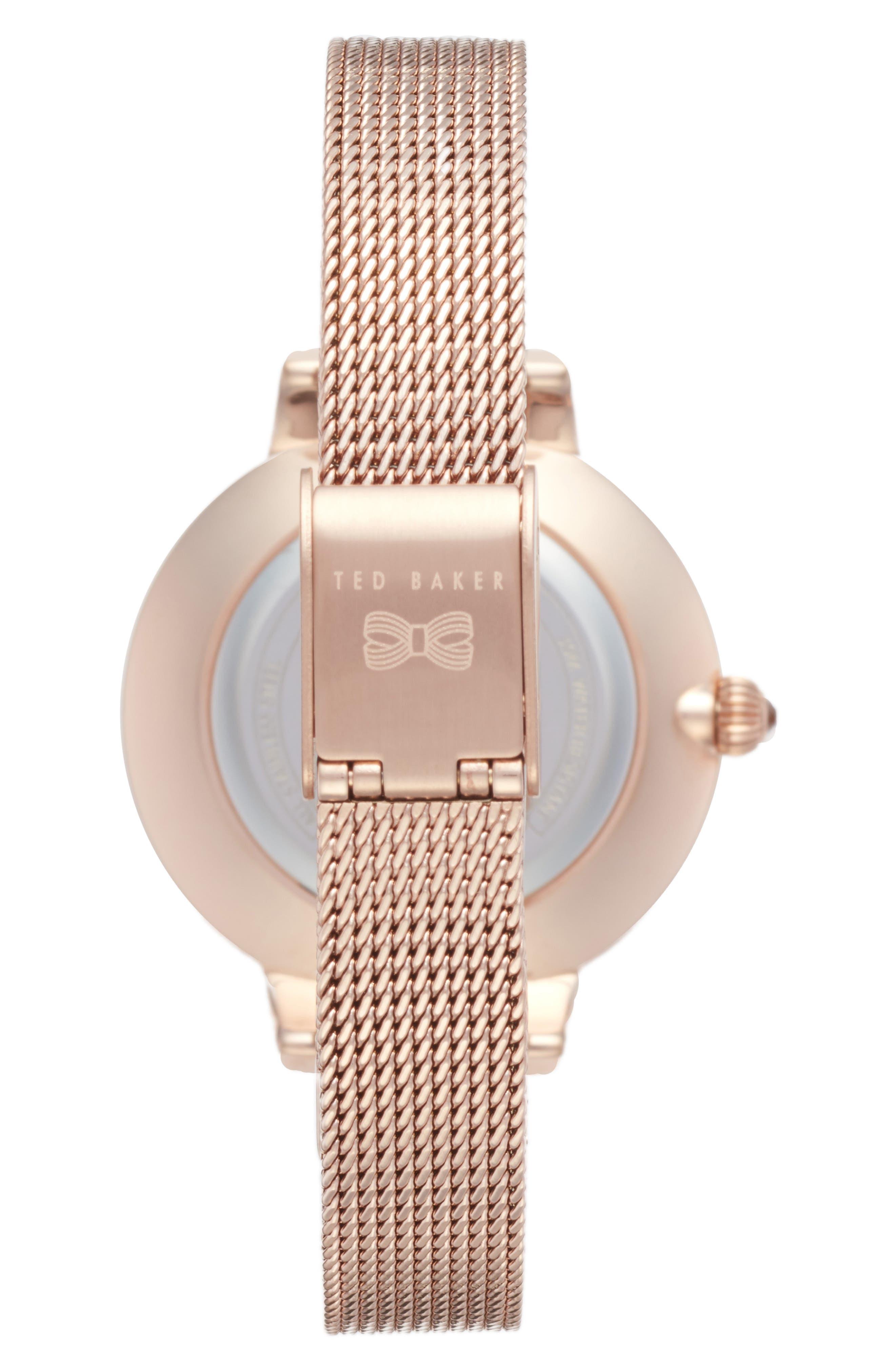 Kate Mesh Strap Watch, 36mm,                             Alternate thumbnail 6, color,