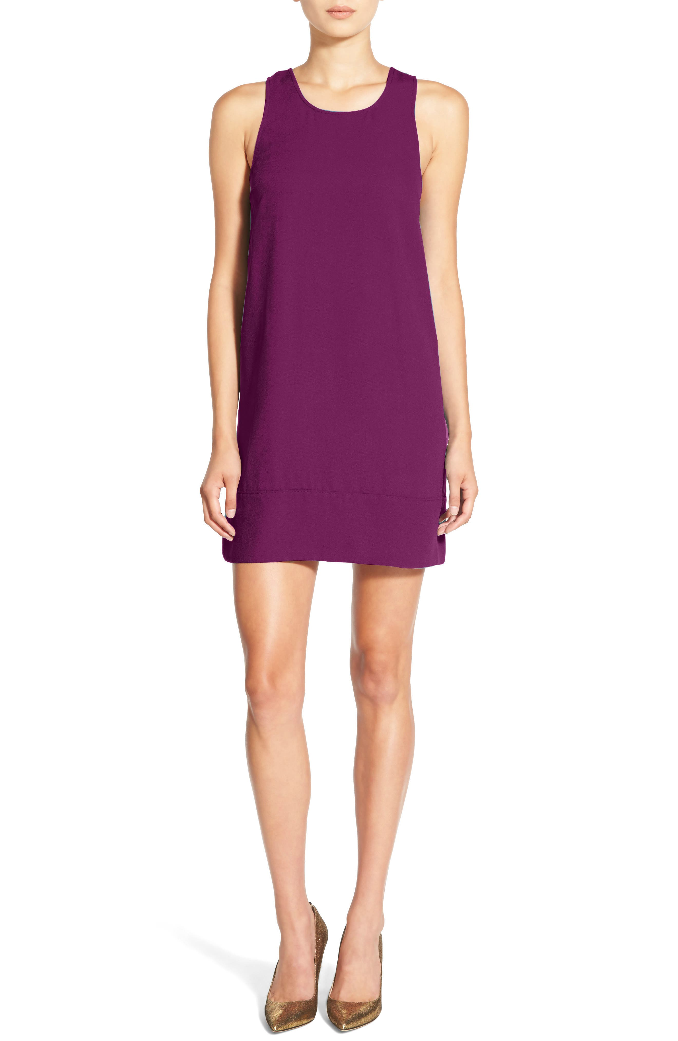 Racerback Shift Dress,                             Alternate thumbnail 73, color,