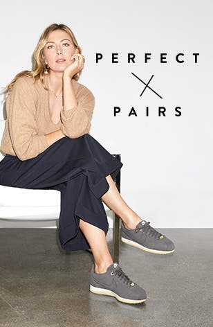 Perfect Pairs: Nordstrom exclusive shoes and noteworthy New Yorkers.