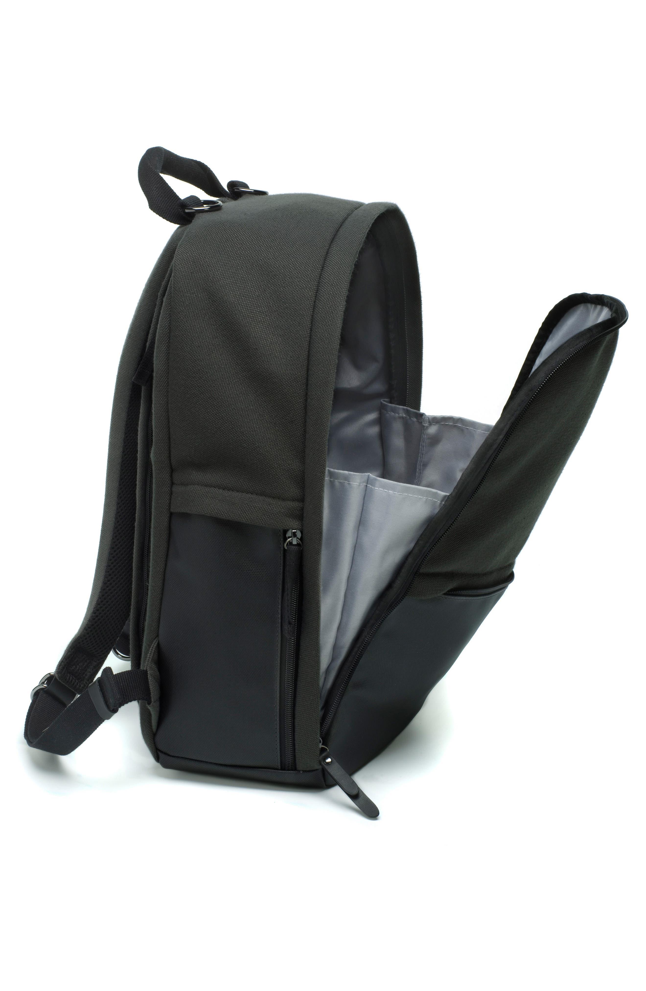 Taylor Diaper Backpack,                             Alternate thumbnail 4, color,                             BLACK