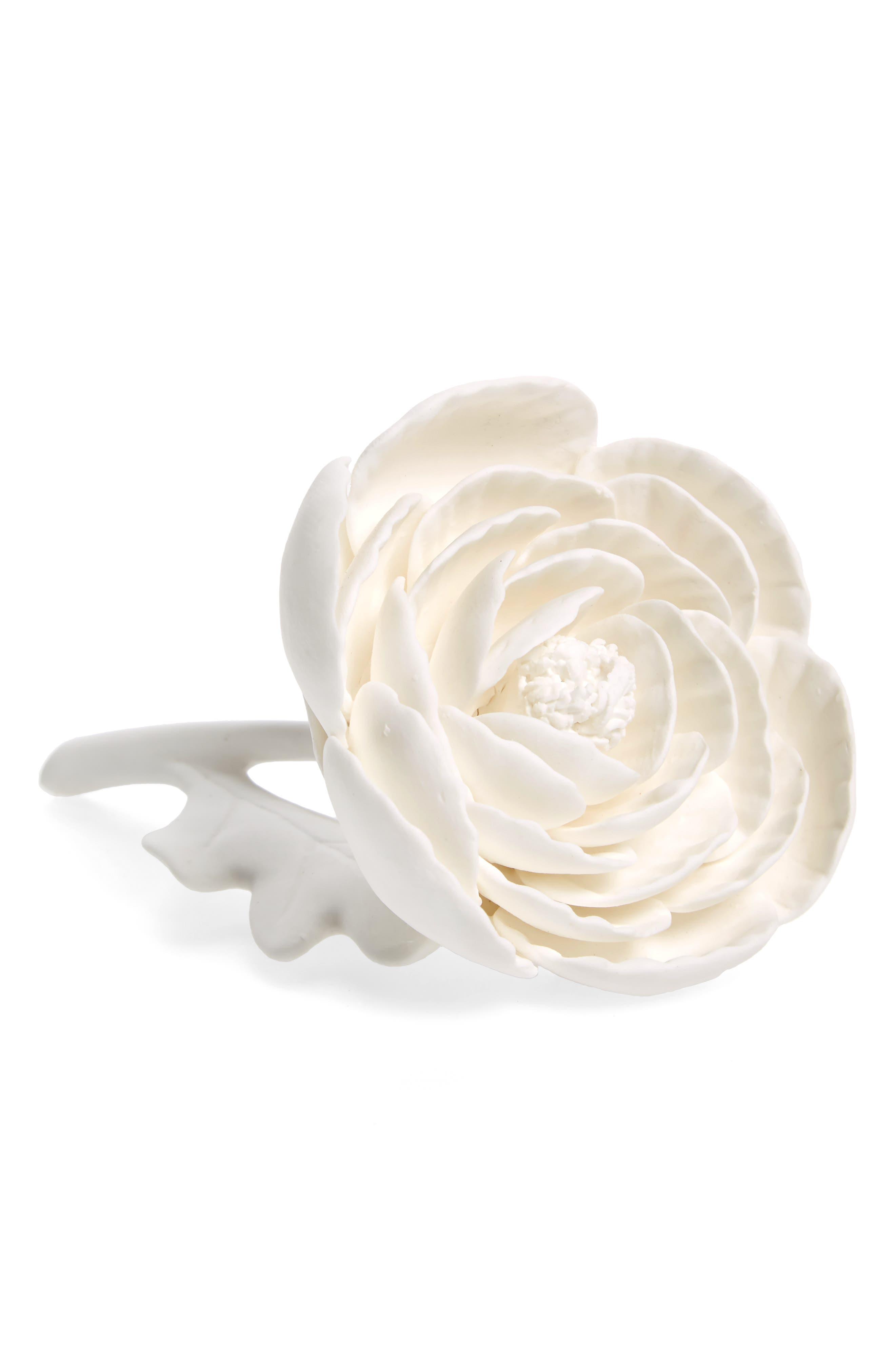 Porcelain Peony,                         Main,                         color, WHITE