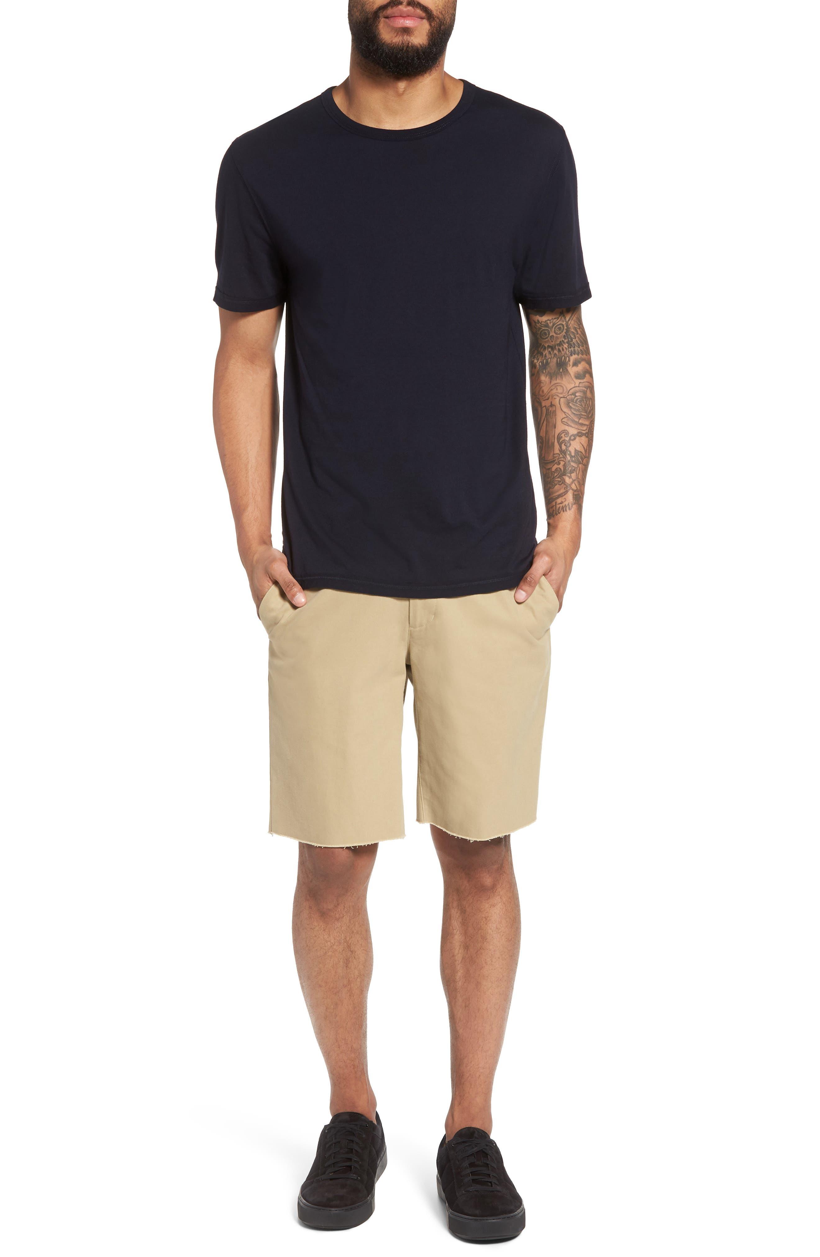 Slim Fit Chino Shorts,                             Alternate thumbnail 7, color,                             250