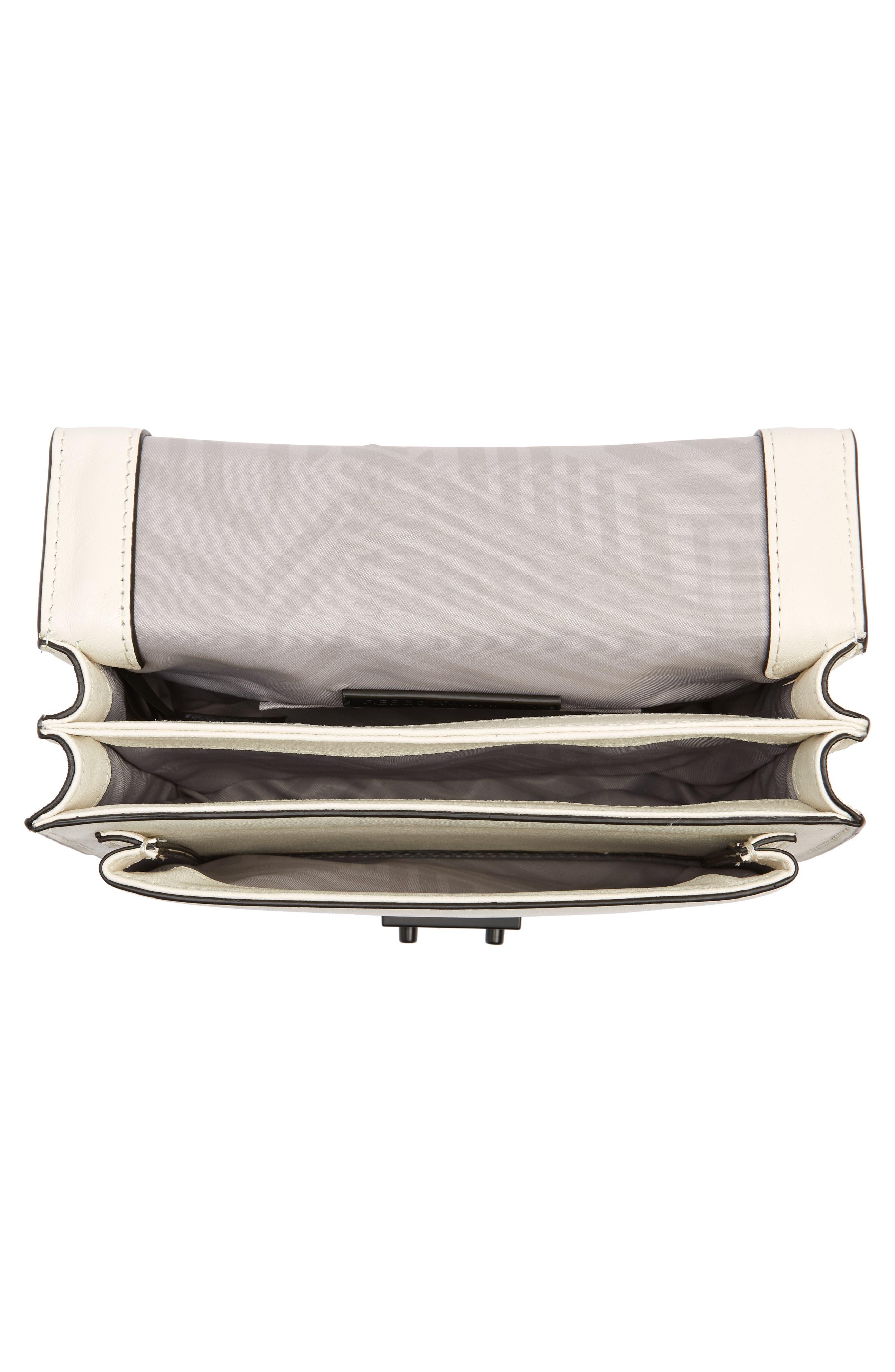Medium Christy Leather Shoulder Bag,                             Alternate thumbnail 16, color,