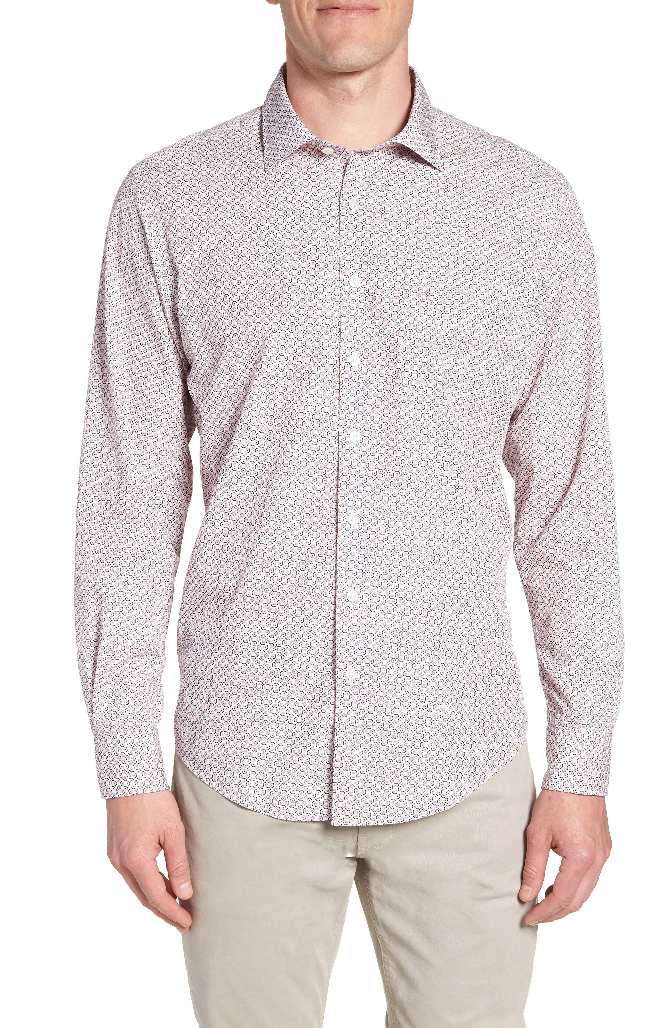 Market Cross Sport Shirt,                         Main,                         color, 640