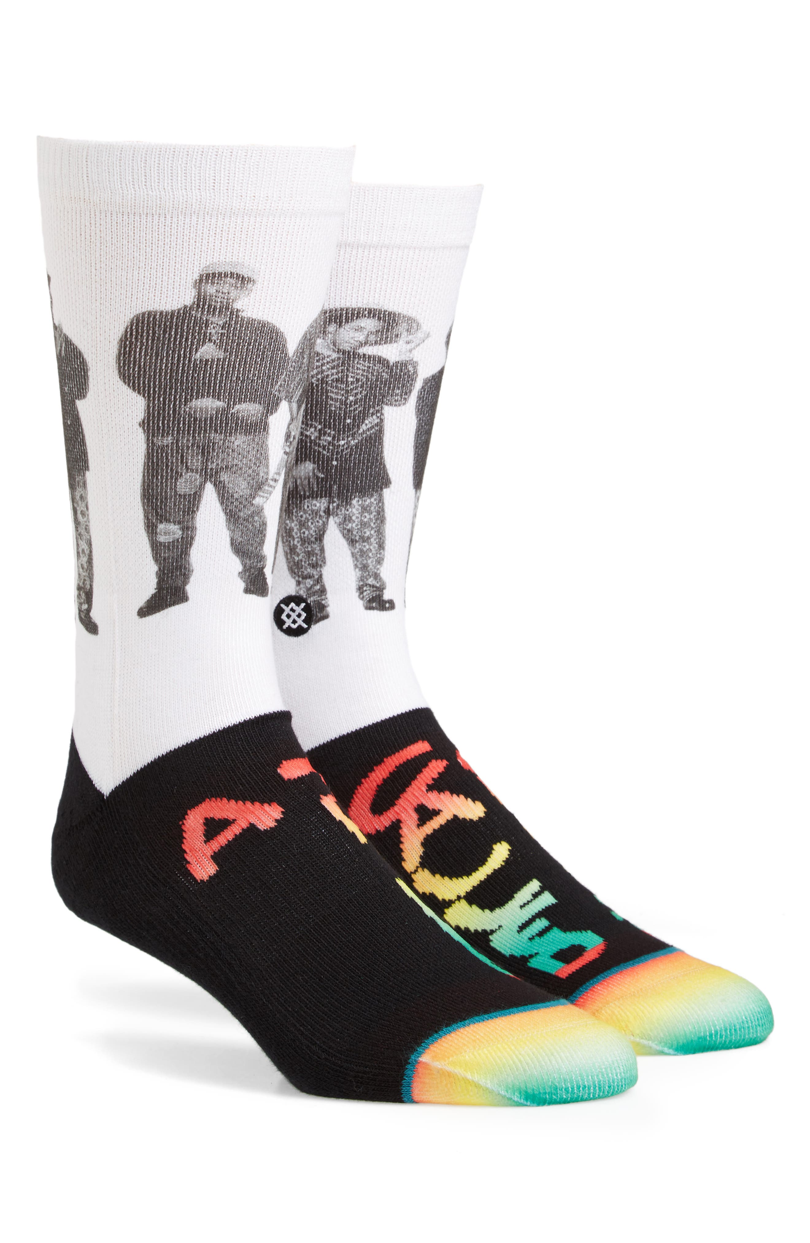 A Tribe Called Quest Crew Socks,                             Main thumbnail 1, color,                             001