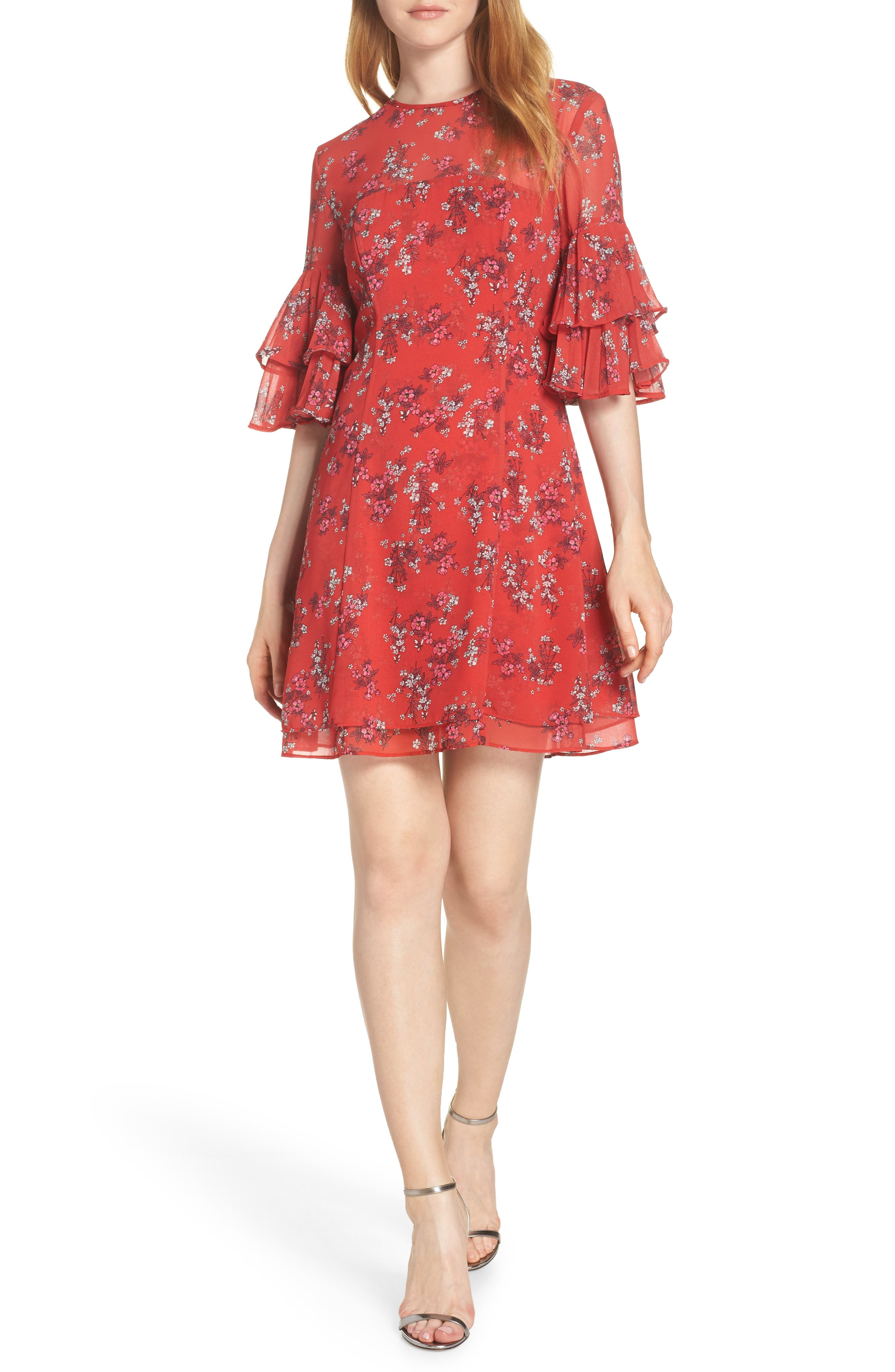 Keepsake The Label Heart And Soul Minidress, Red