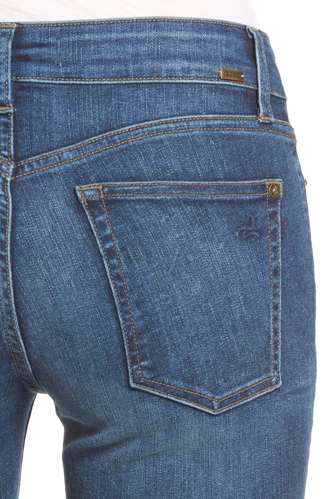 Mara Straight Leg Jeans,                             Alternate thumbnail 5, color,                             405