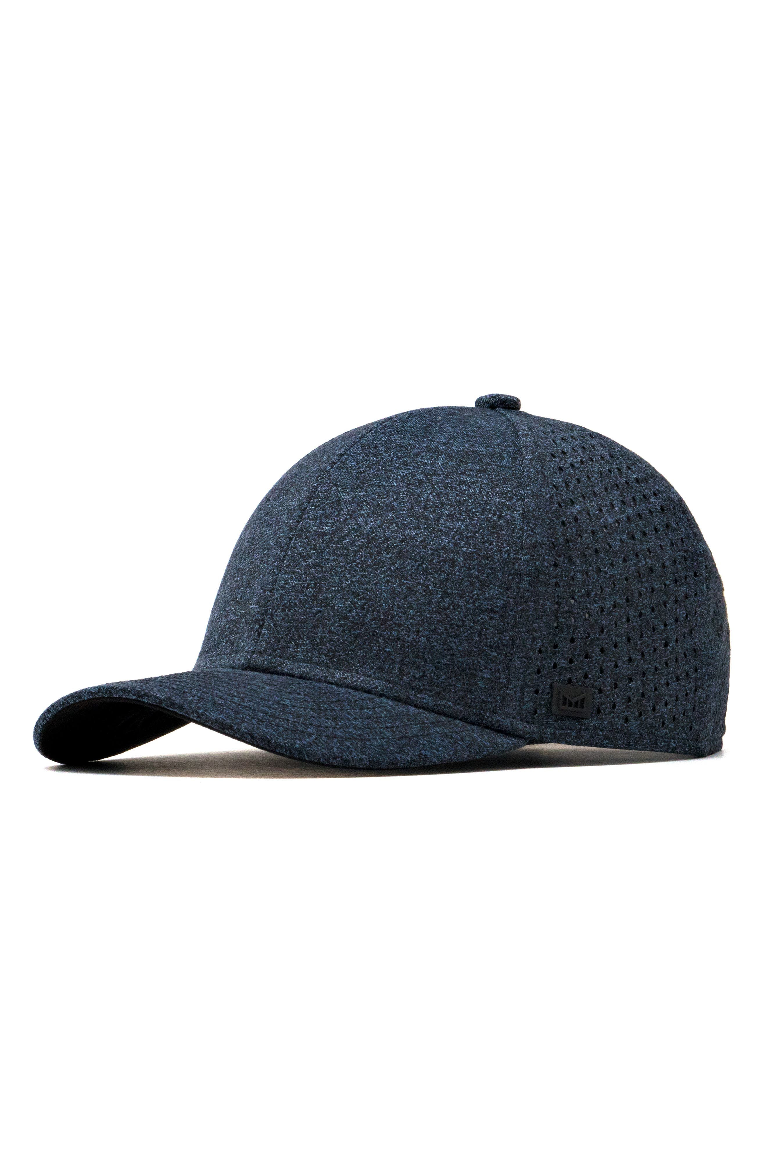 MELIN The A-Game Ball Cap - Blue in Heather Blue