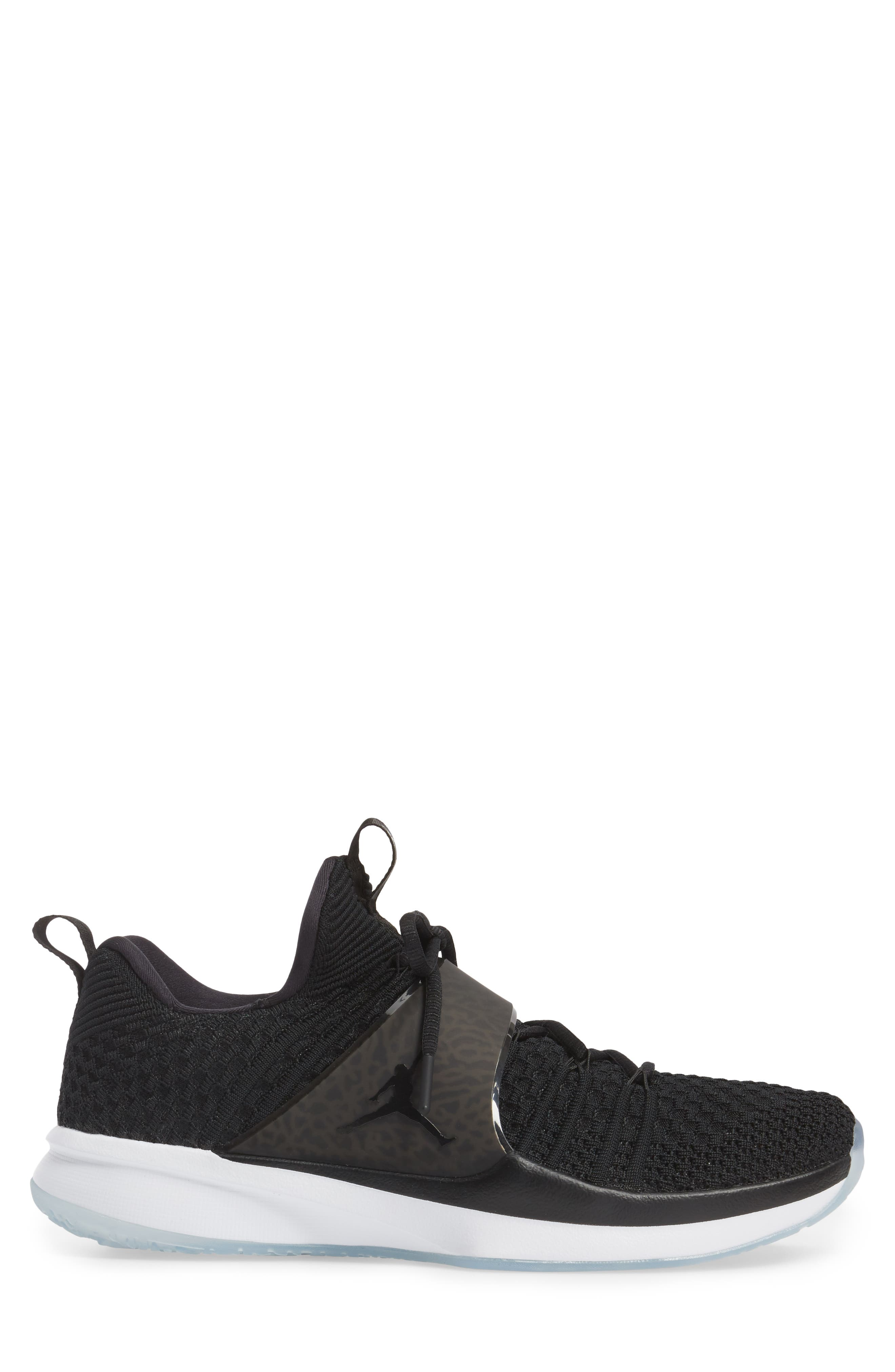 Jordan Flyknit Trainer 2 Low Sneaker,                             Alternate thumbnail 11, color,