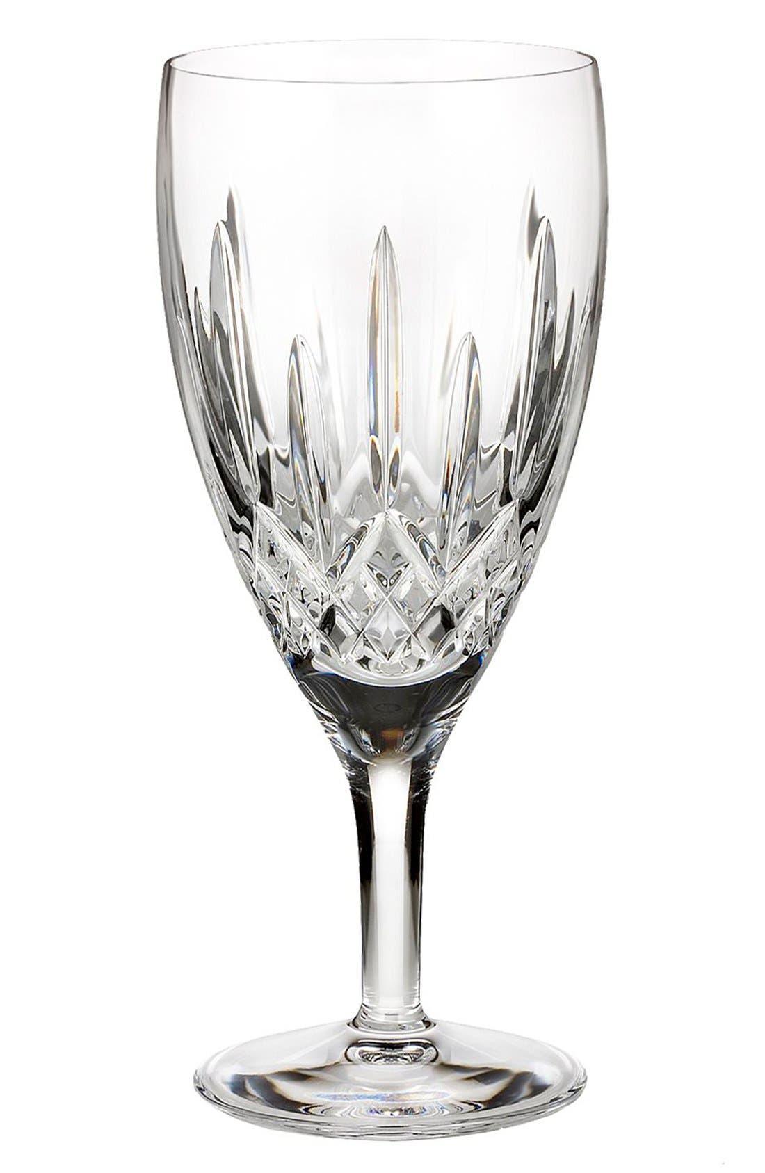 'Lismore Nouveau' Lead Crystal Iced Beverage Glass,                             Main thumbnail 1, color,                             100