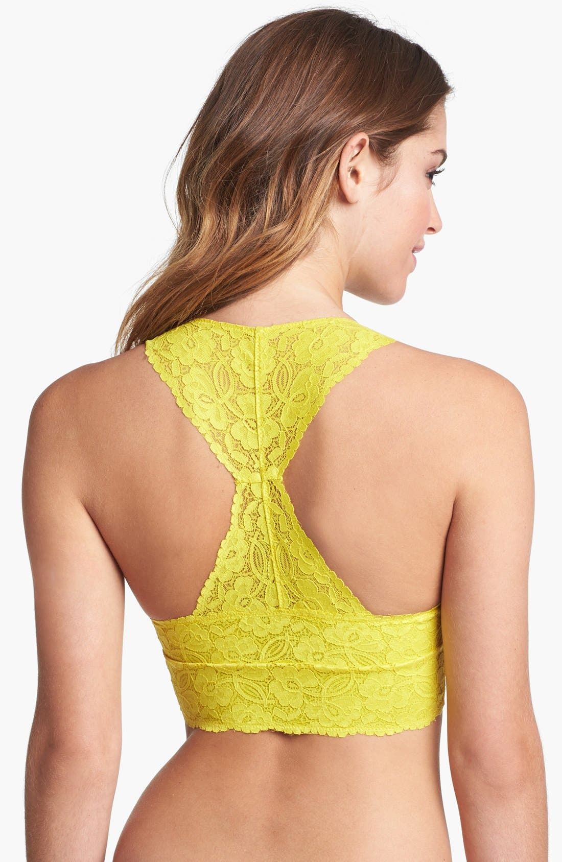 Racerback Galloon Lace Bralette,                             Alternate thumbnail 91, color,
