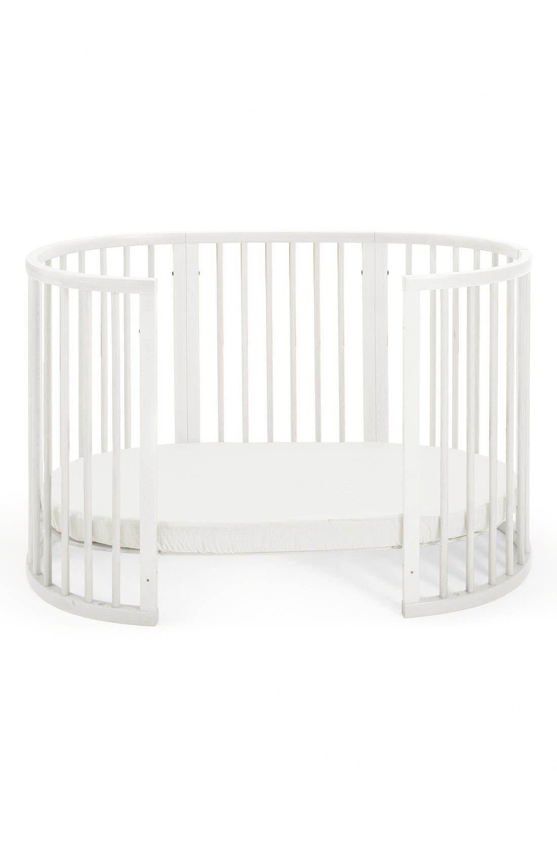 Convertible Sleepi Crib & Toddler Bed,                             Alternate thumbnail 2, color,                             WHITE