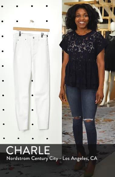 Raw Hem Skinny Jeans, sales video thumbnail