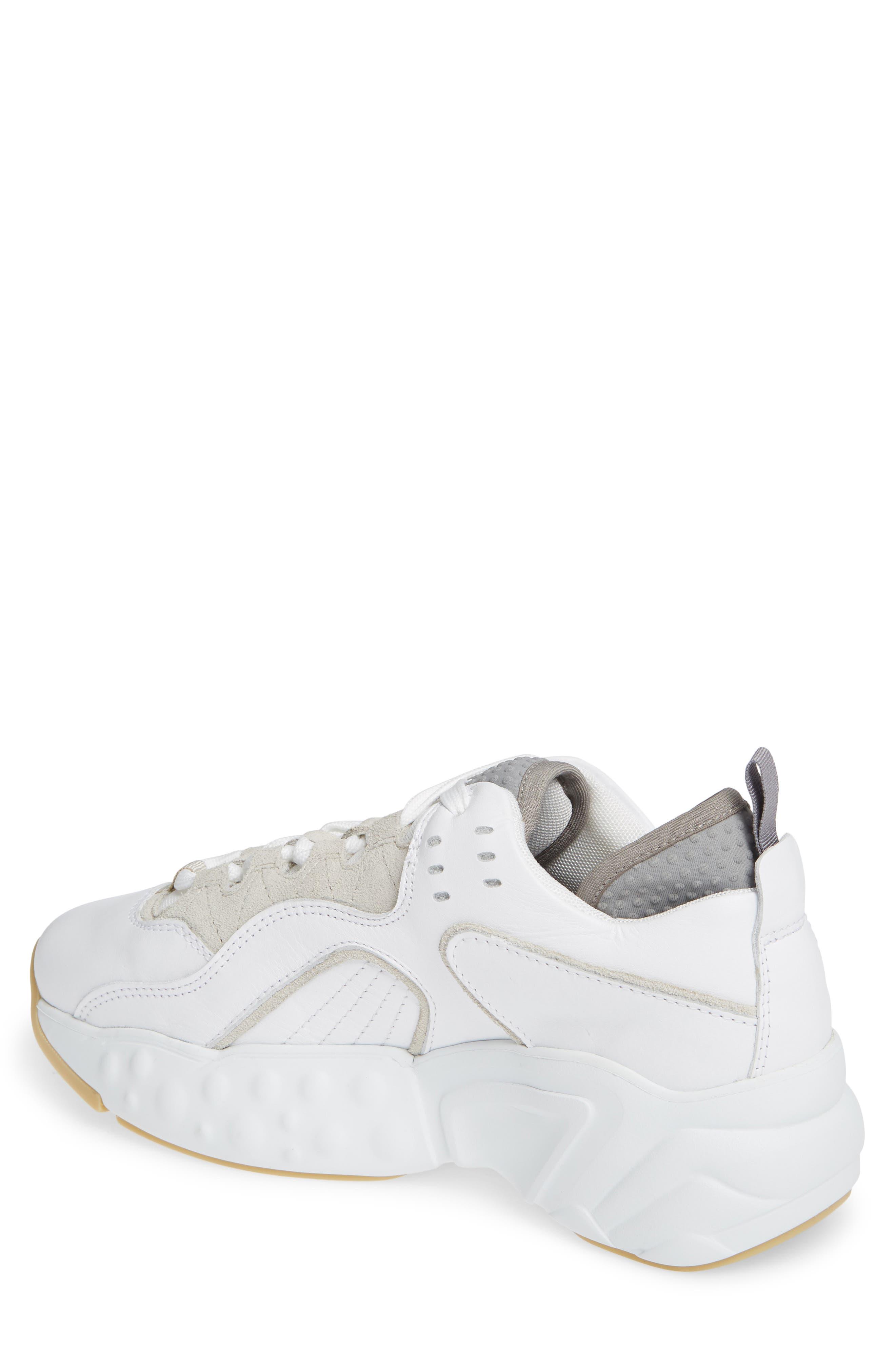Manhattan Sneaker,                             Alternate thumbnail 2, color,                             WHITE/WHITE