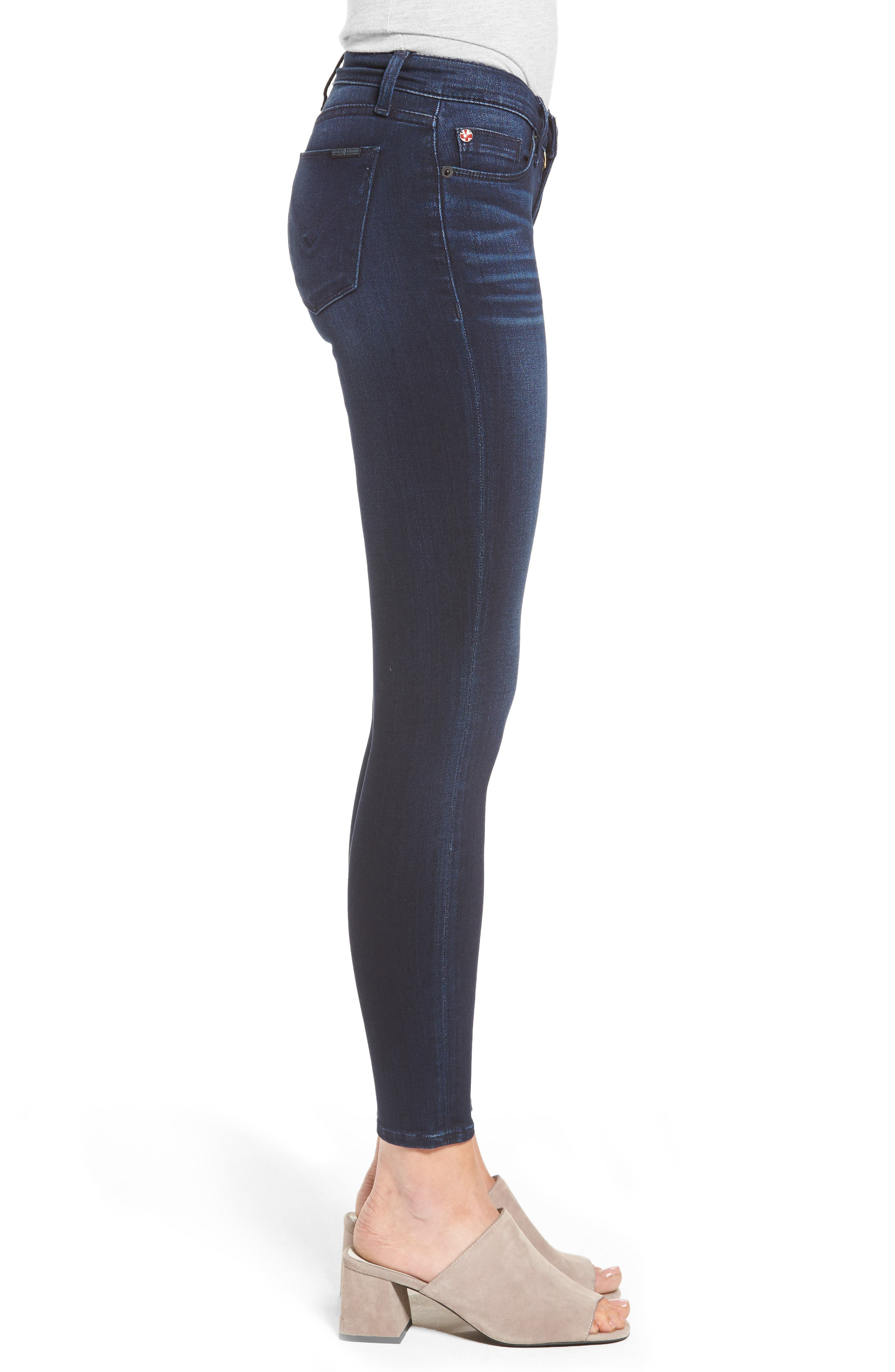 Krista Super Skinny Crop Jeans,                             Alternate thumbnail 3, color,                             401
