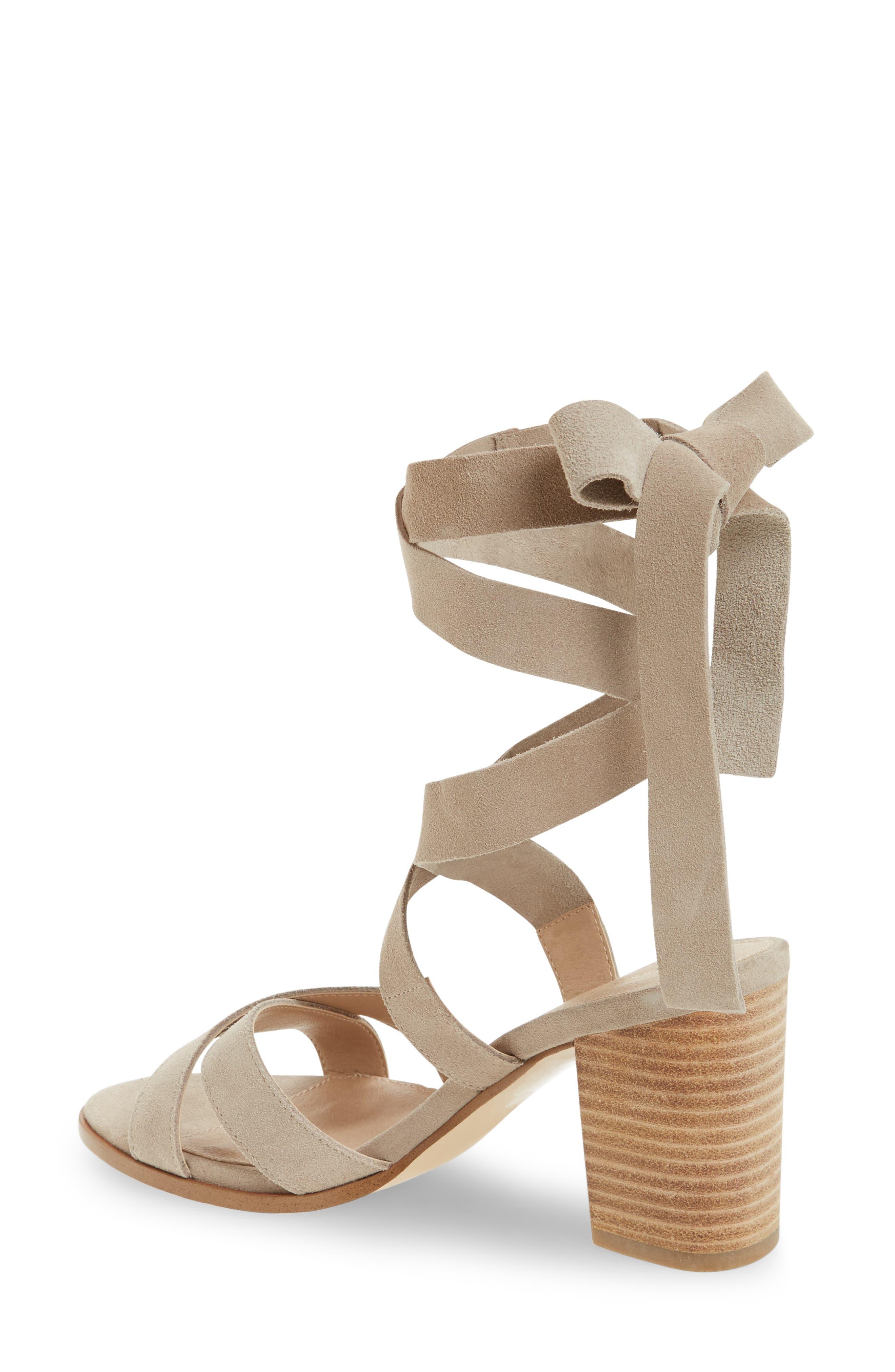 Bonjour Ankle Wrap Sandal,                             Alternate thumbnail 4, color,