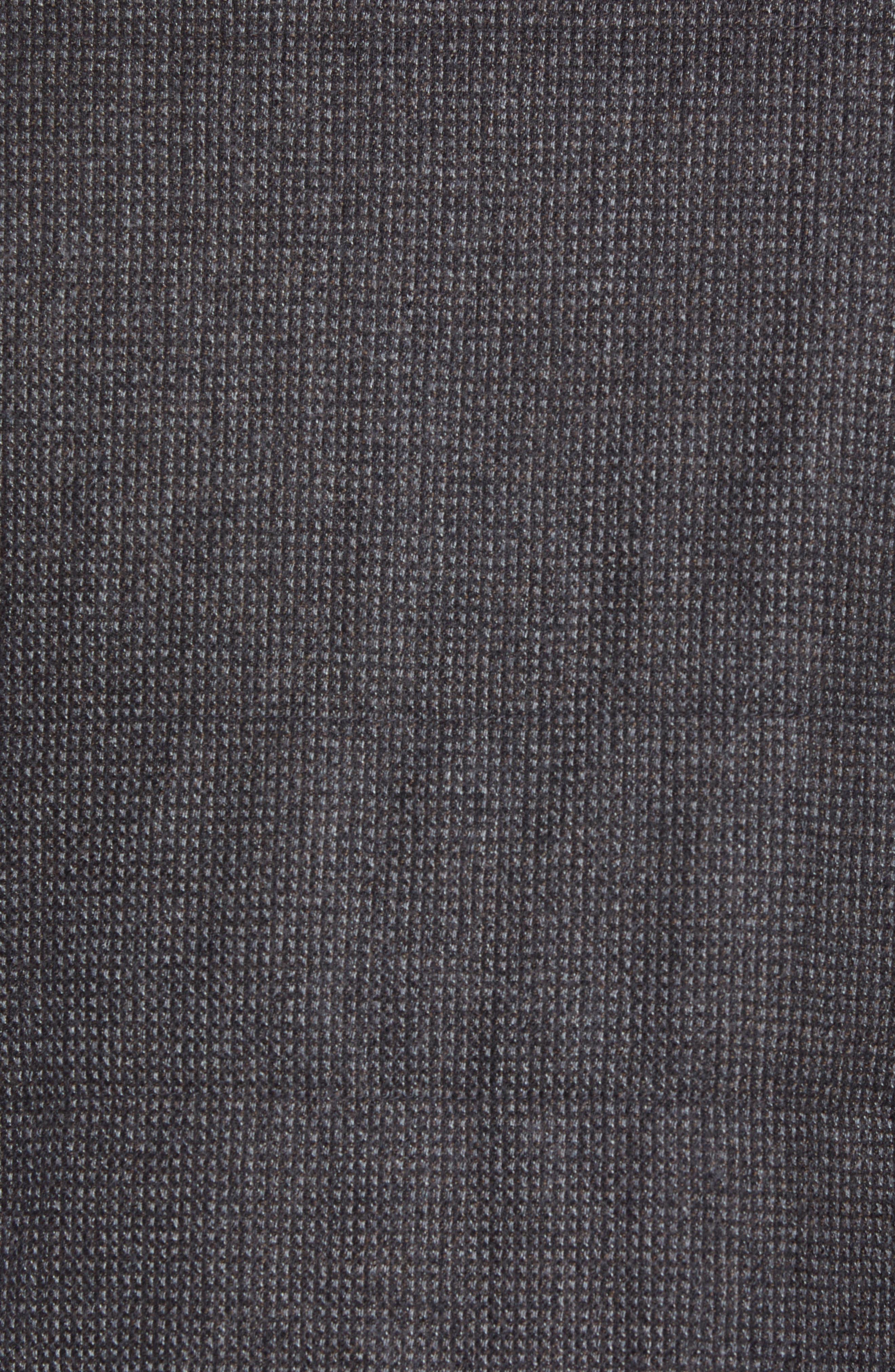 Classic Fit Reversible Vest,                             Alternate thumbnail 7, color,                             BROWN