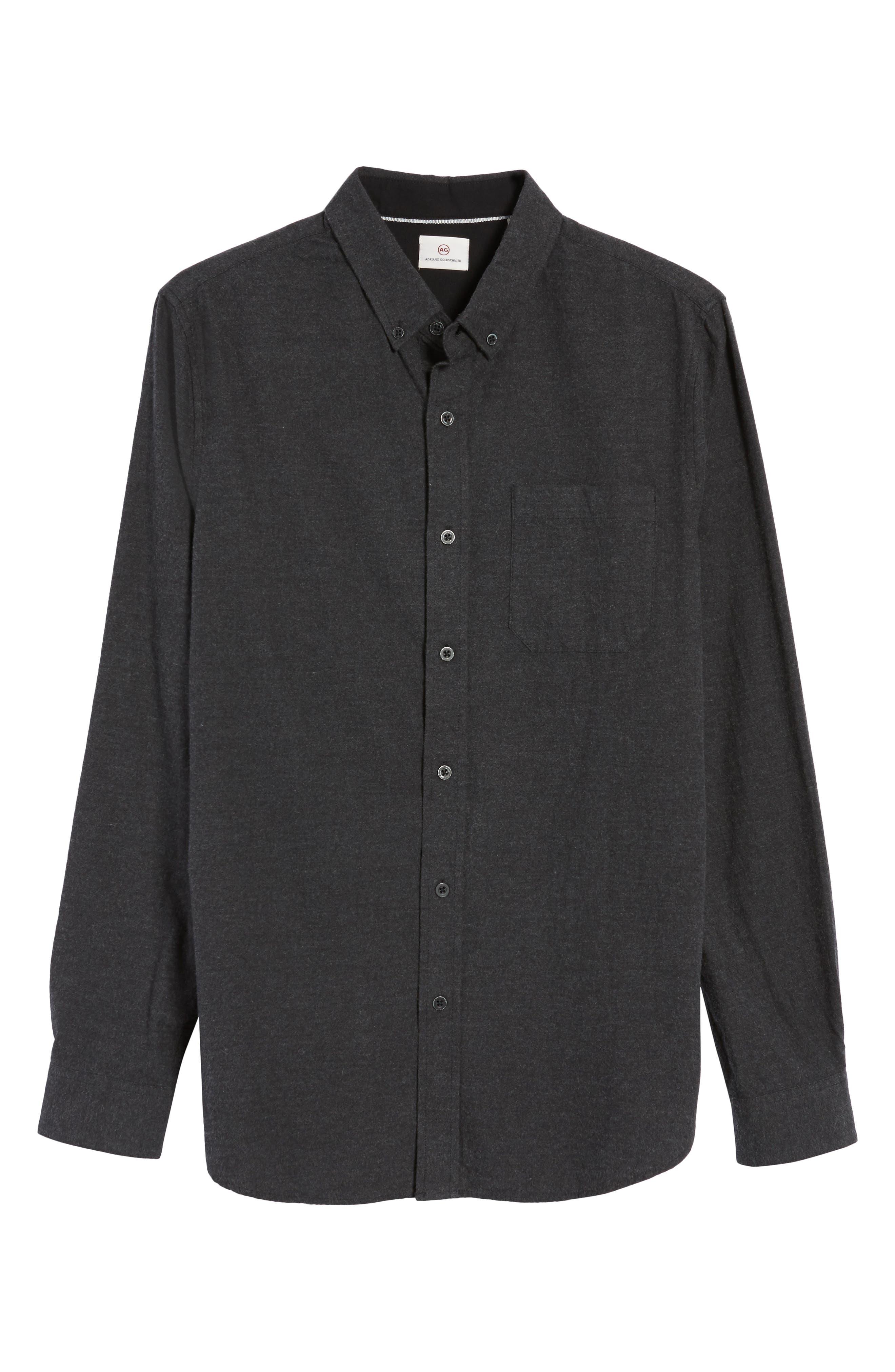 AG,                             Caleb Slim Fit Sport Shirt,                             Alternate thumbnail 6, color,                             020