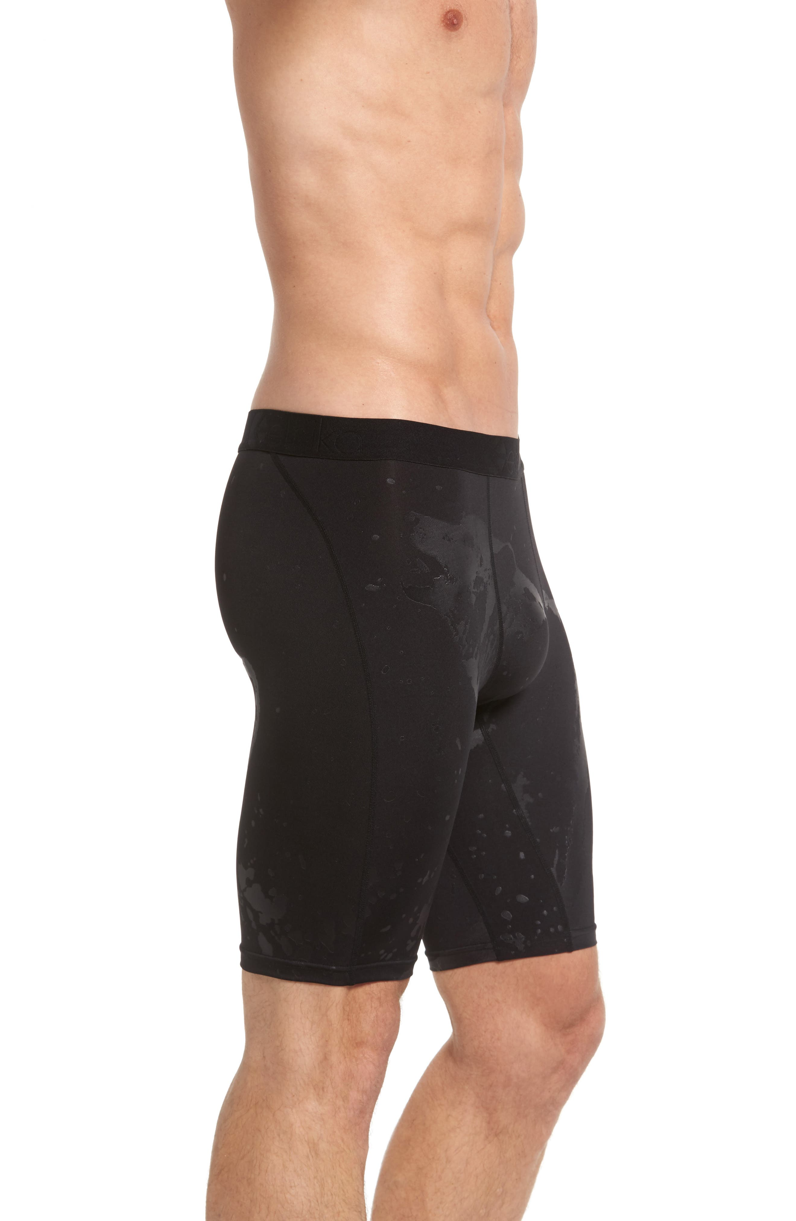 Wolf Embossed Boxer Briefs,                             Alternate thumbnail 3, color,                             002