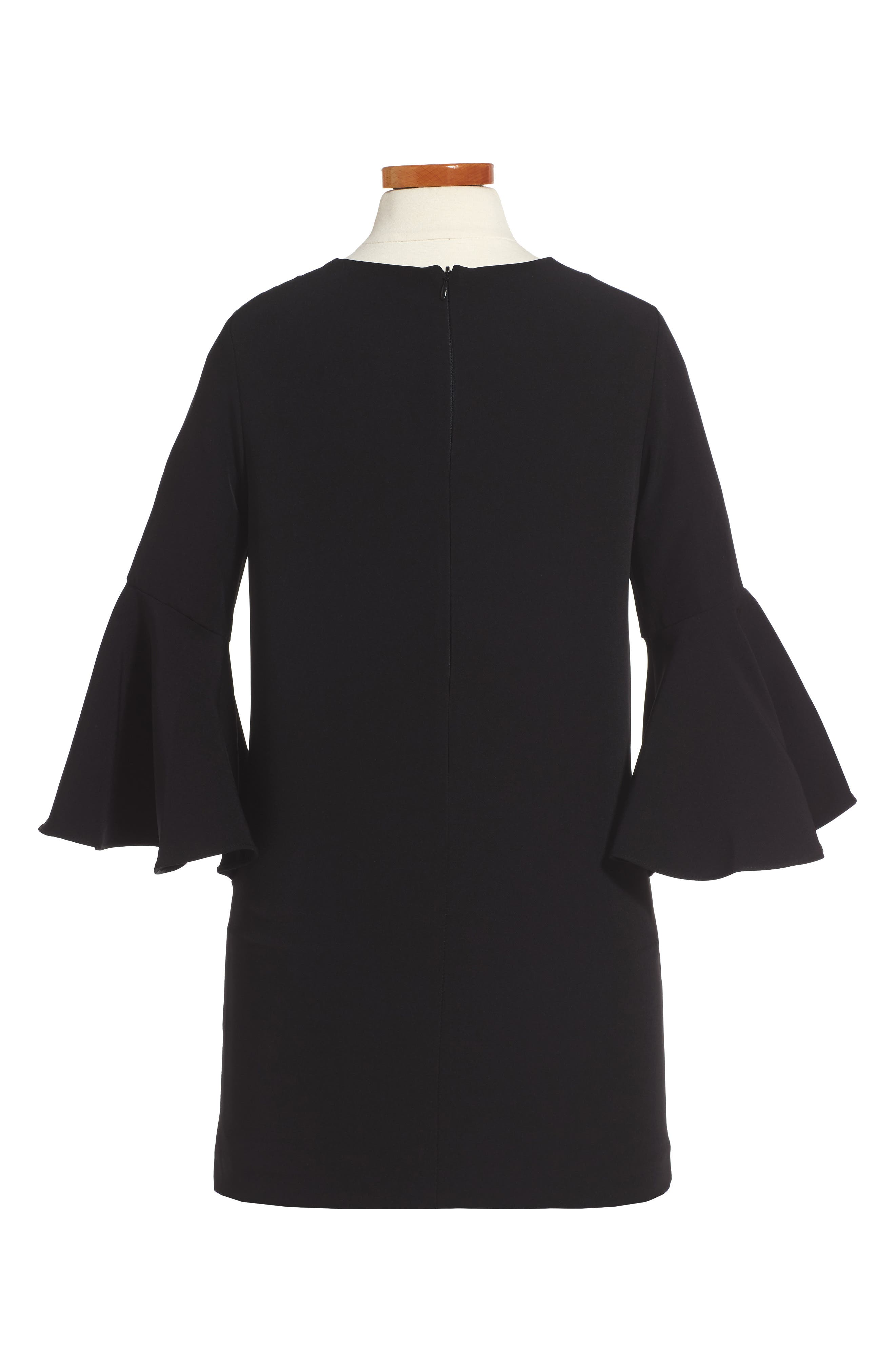 Italian Cady Nicola Dress,                             Main thumbnail 1, color,                             001