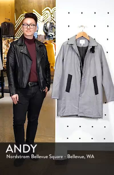 The Padded Regular Fit Coat, sales video thumbnail