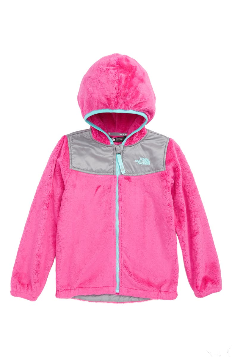 The North Face OSO Fleece Full-Zip Hoodie (Toddler Girls   Little ... 9369ad6d5