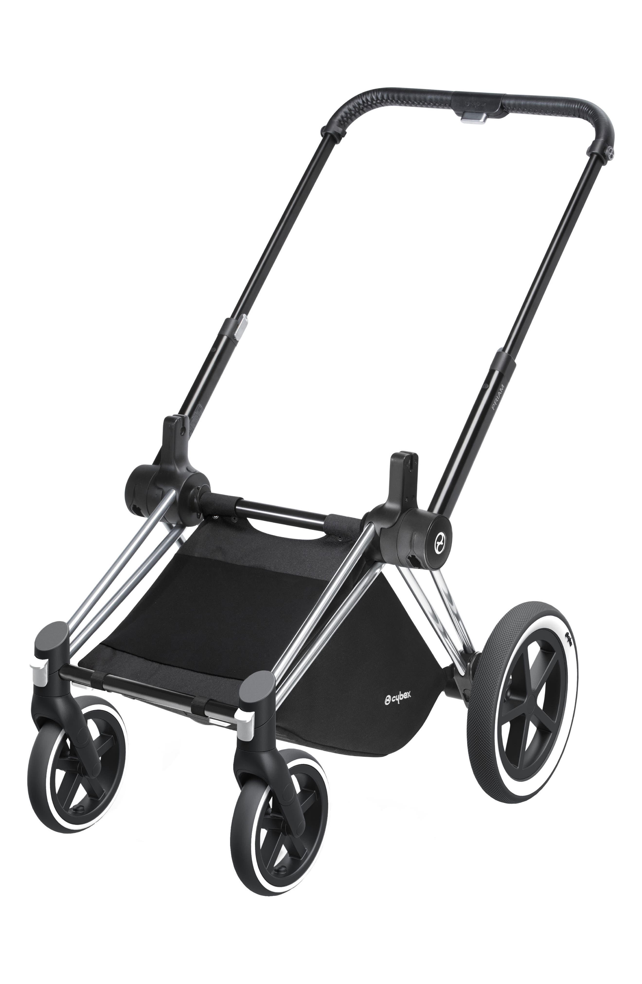 Priam Stroller Frame with All Terrain Wheels,                         Main,                         color, ALL TERRAIN