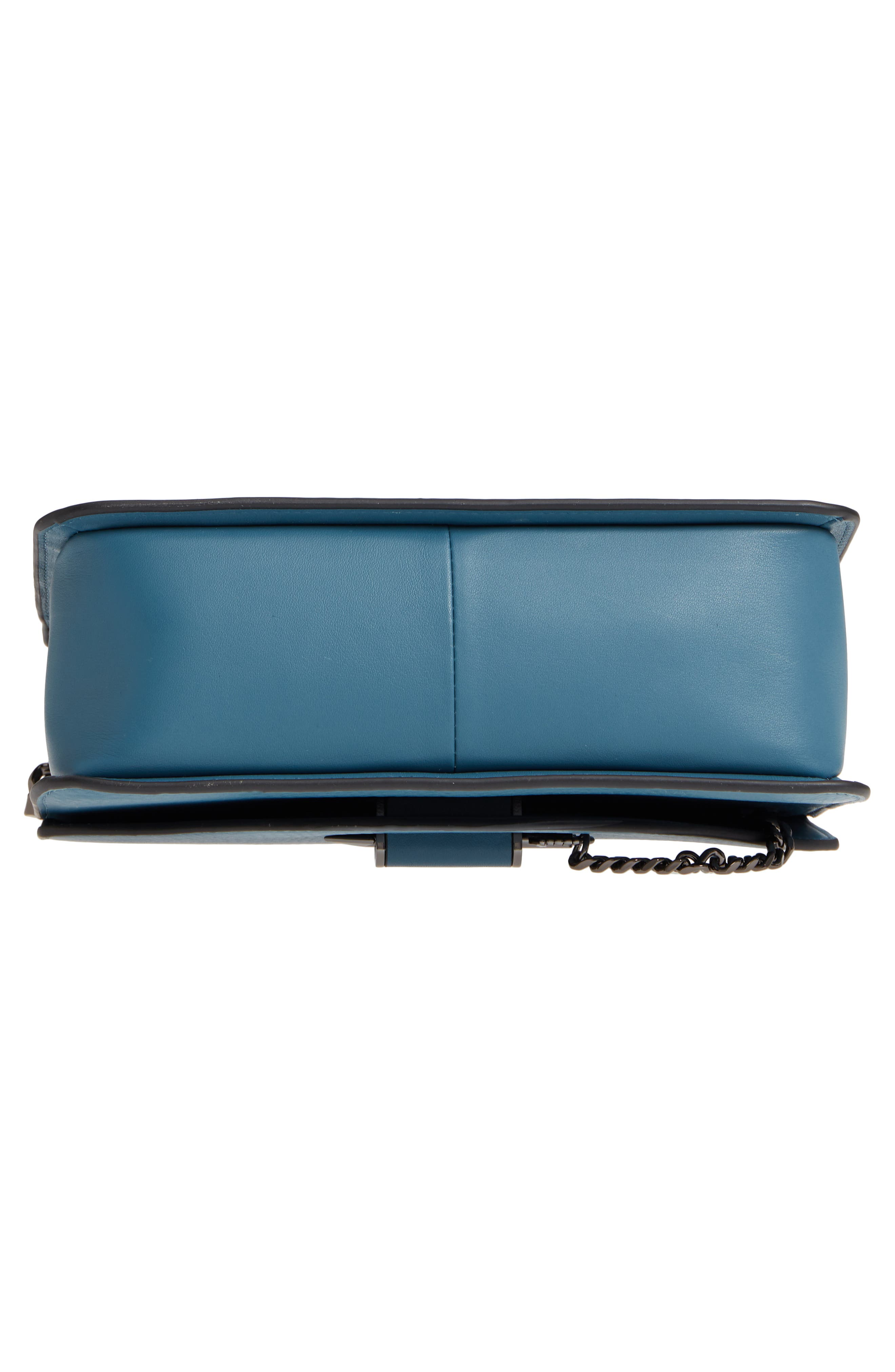 Cortney Nappa Leather Shoulder/Crossbody Bag,                             Alternate thumbnail 23, color,