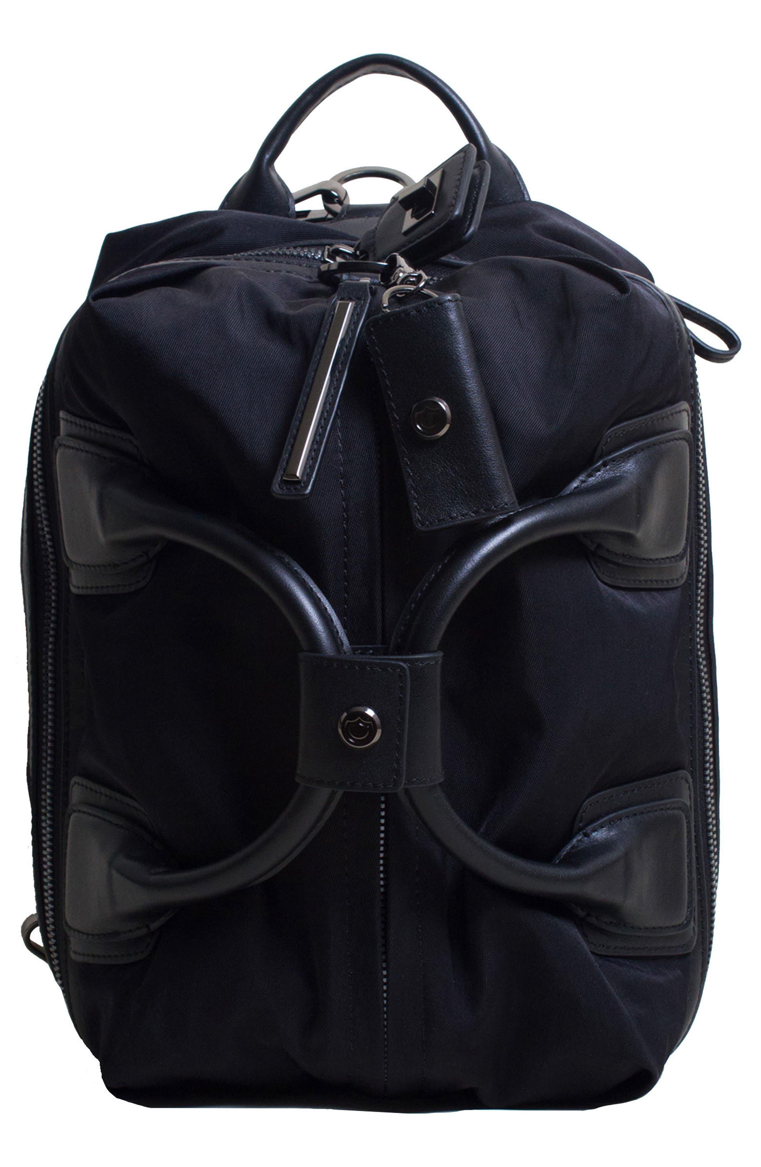 Studio Medium Duffel Backpack, Main, color, BLACK