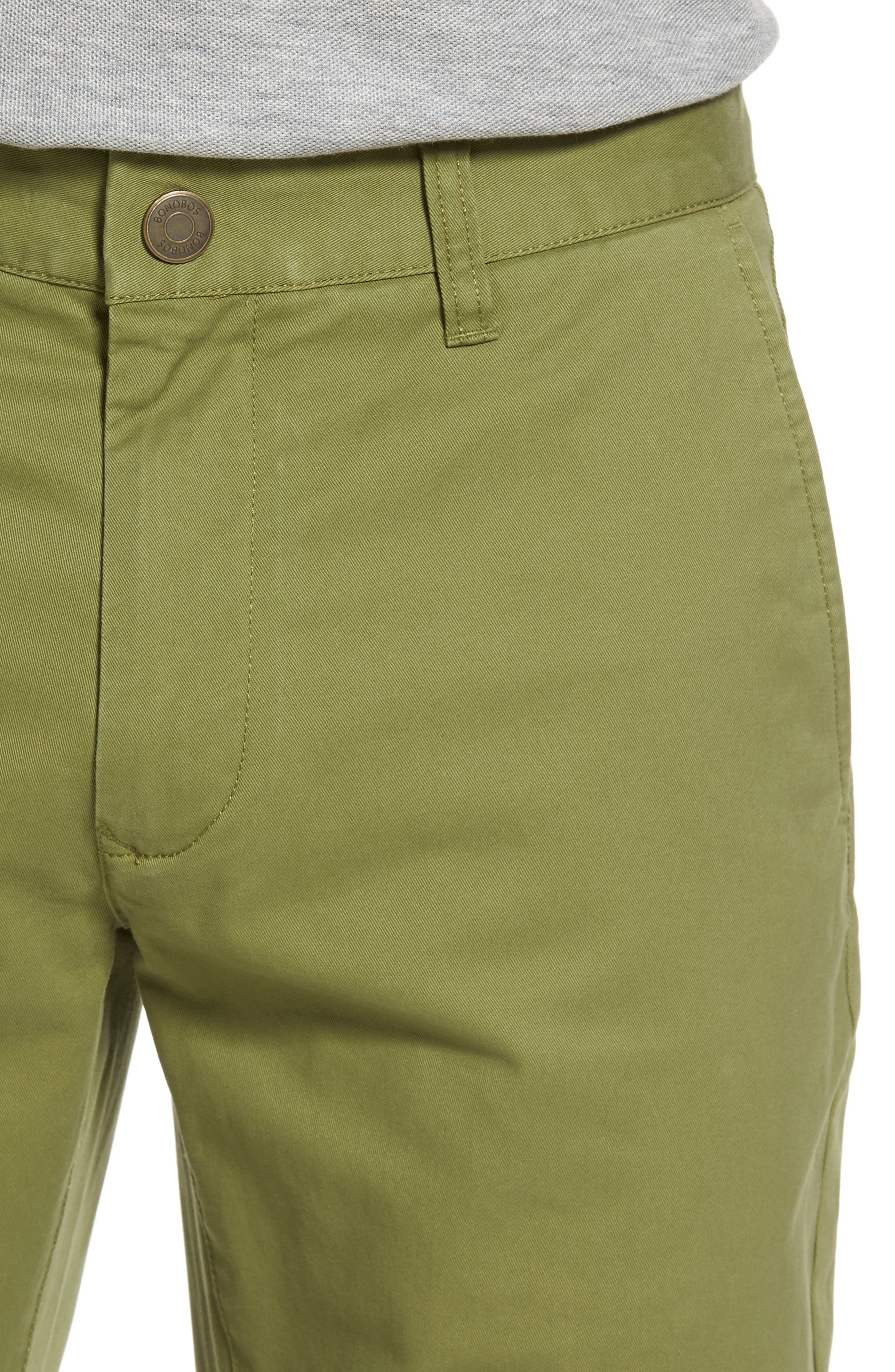 Tailored Fit Washed Stretch Cotton Chinos,                             Alternate thumbnail 112, color,
