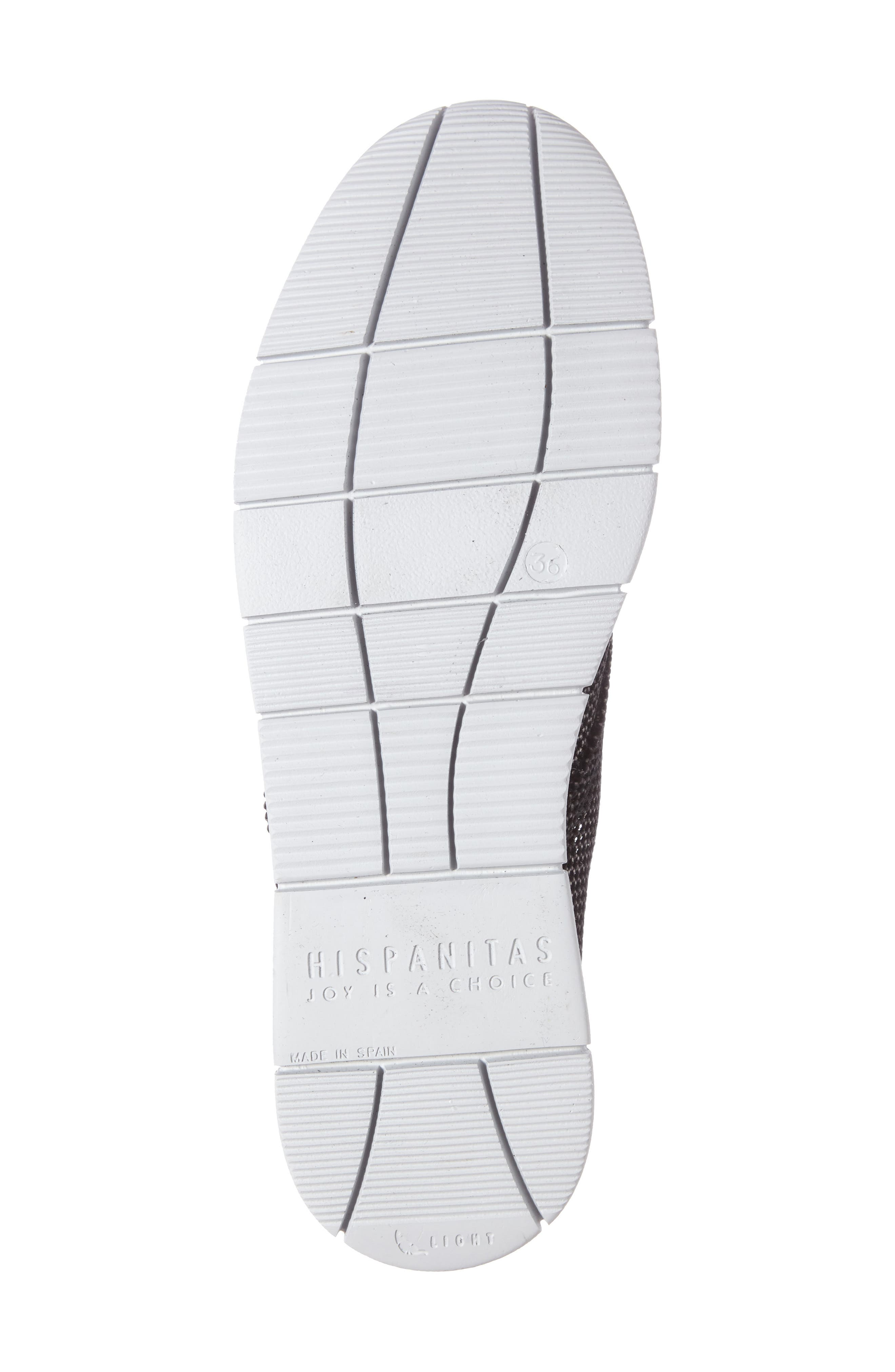 Gala Perforated Sneaker,                             Alternate thumbnail 4, color,                             001