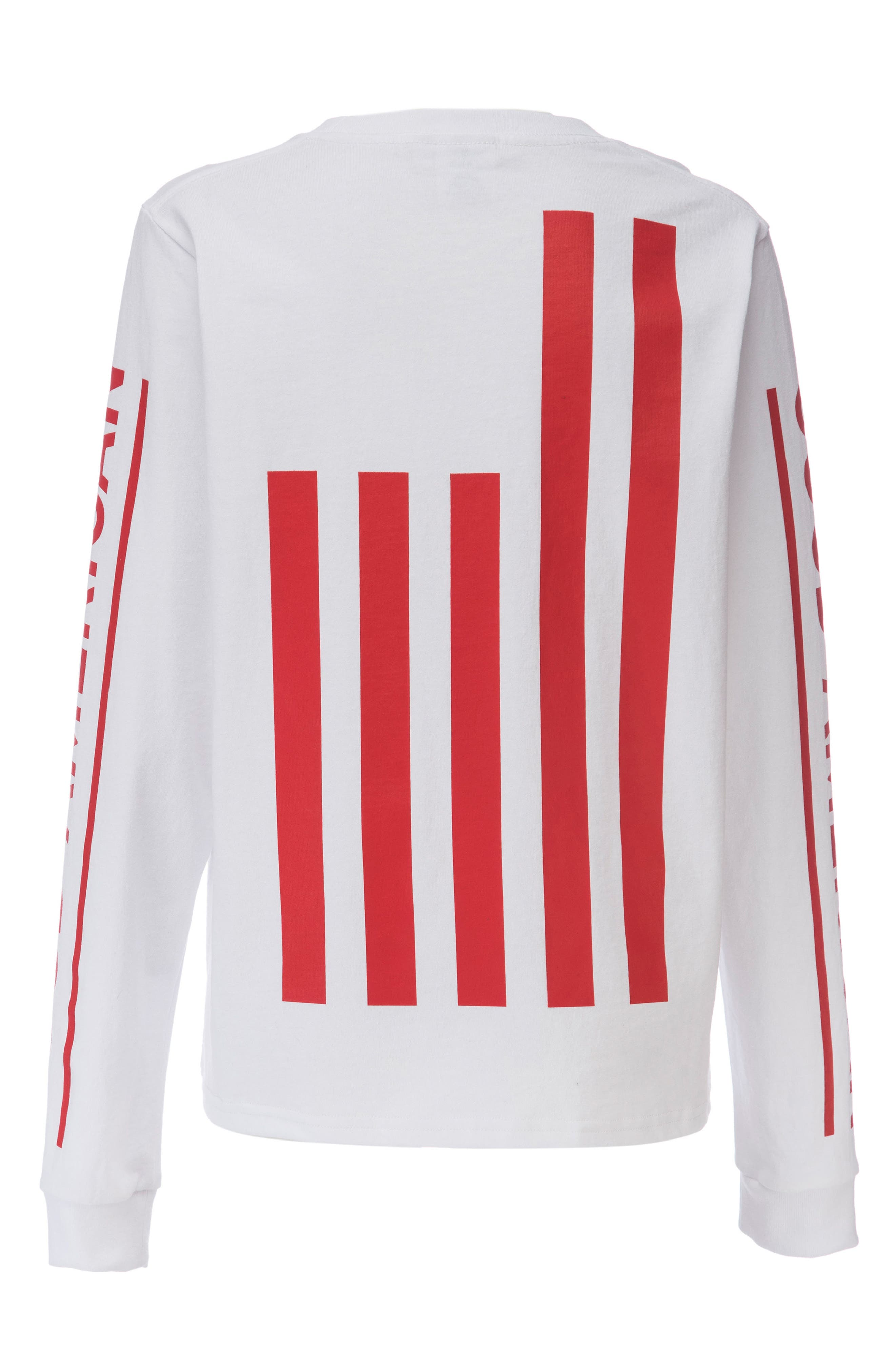 Goodies Graphic Long Sleeve Tee,                             Alternate thumbnail 6, color,