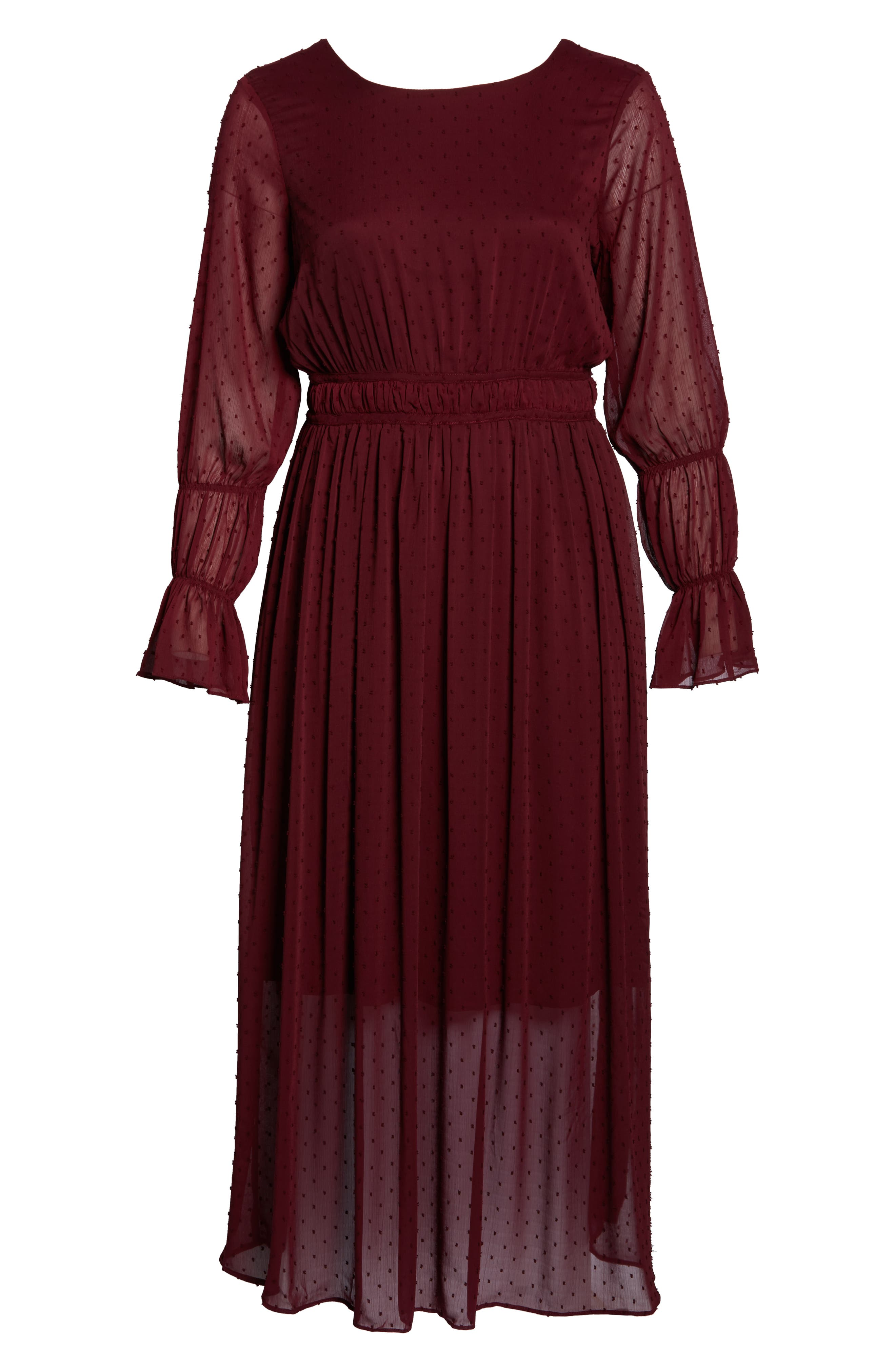 Dobby Maxi Dress,                             Alternate thumbnail 7, color,                             603