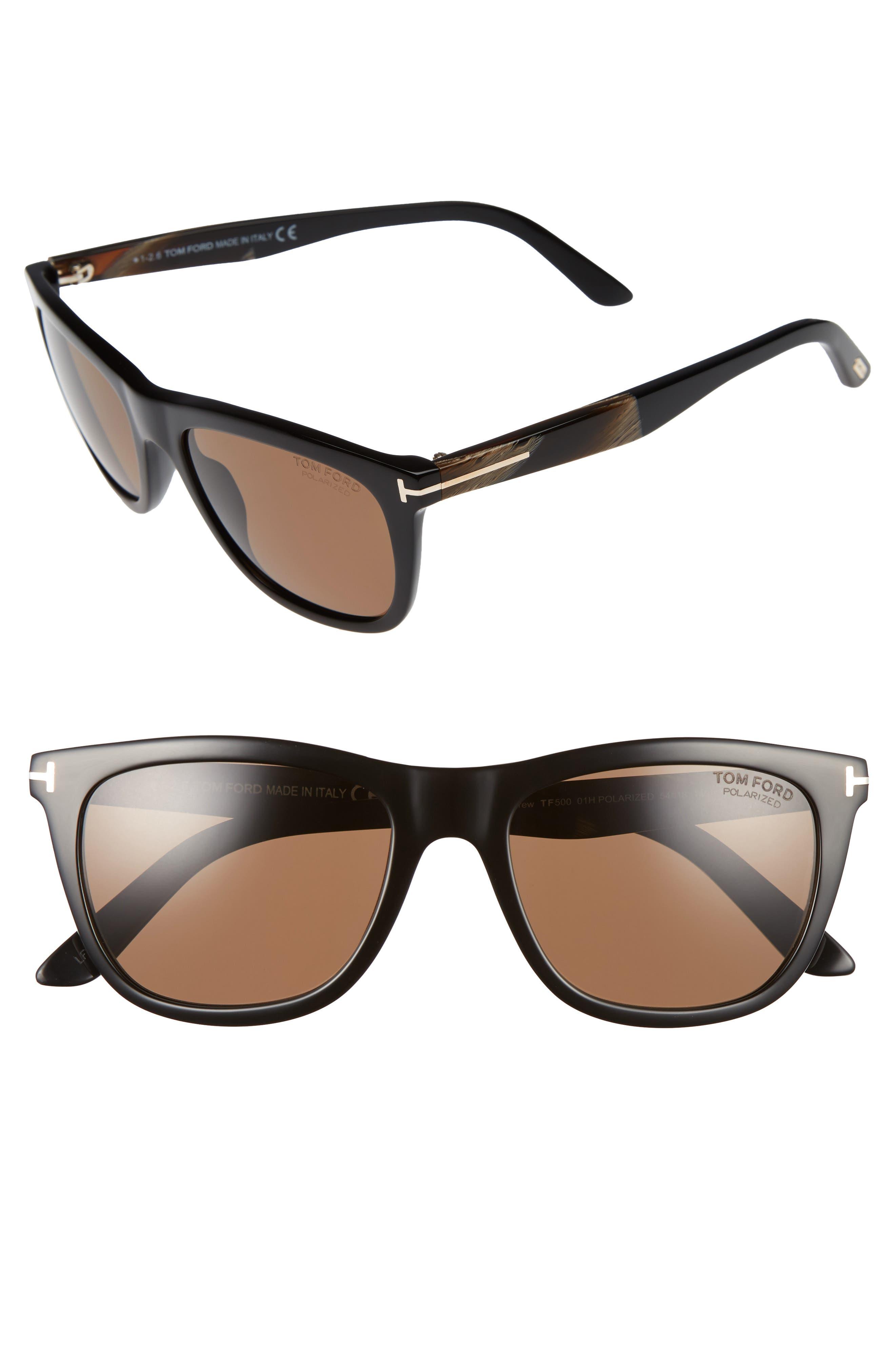 Andrew 54mm Sunglasses,                             Alternate thumbnail 3, color,                             001