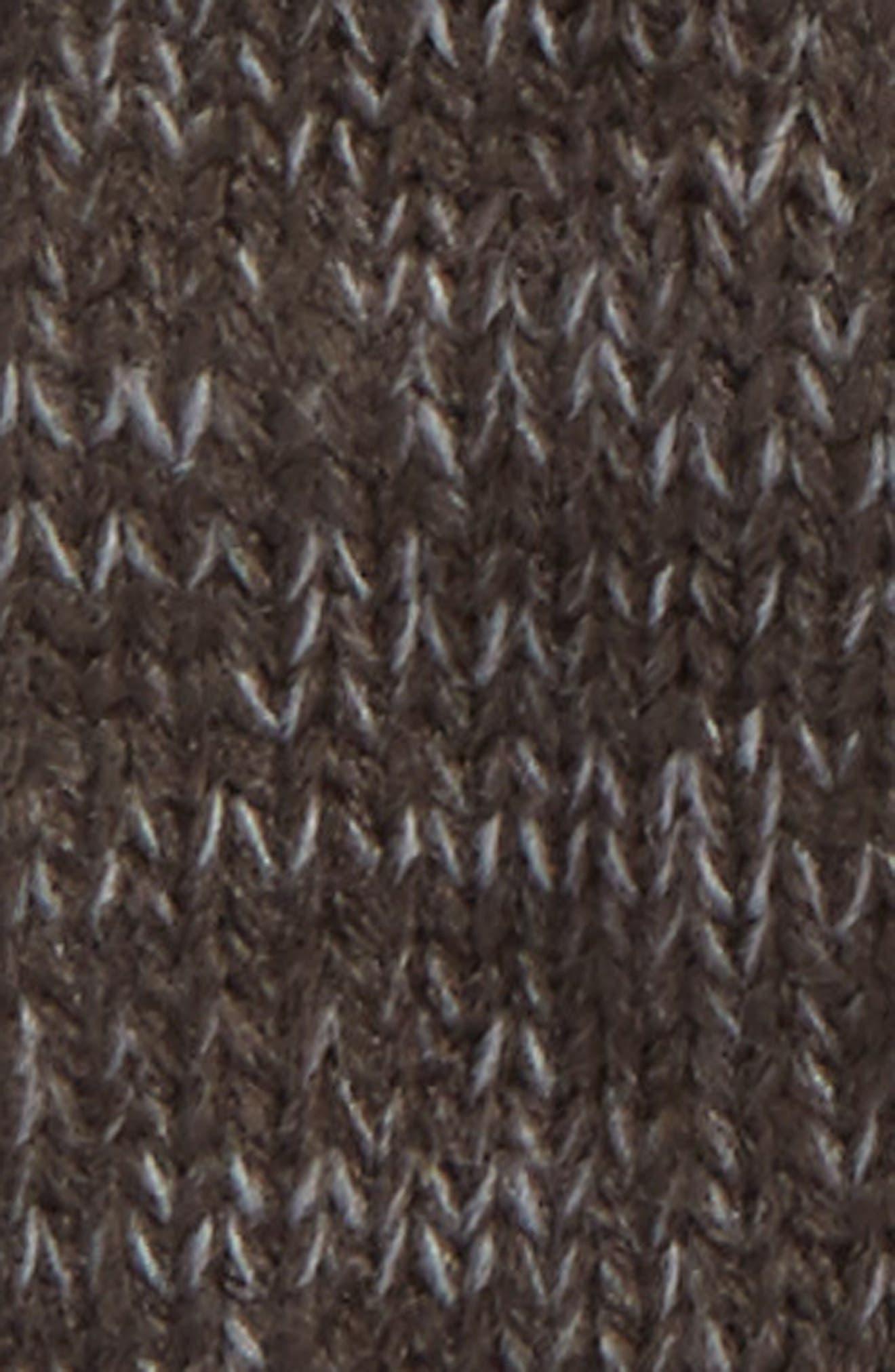 Etip Salty Dog Knit Tech Gloves,                             Alternate thumbnail 3, color,                             GRAPHITE GREY/ MID GREY MARL